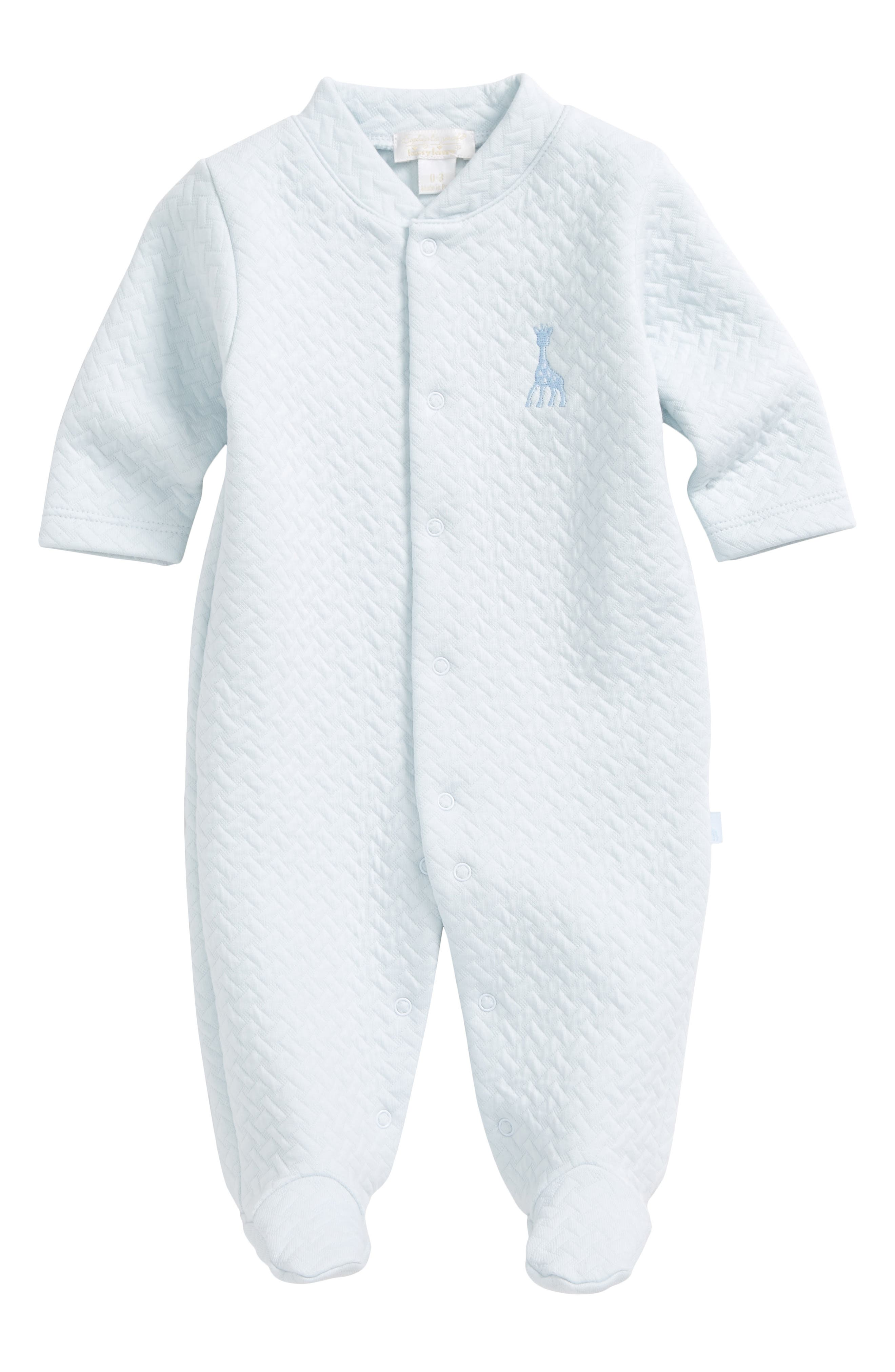 Kissy Kissy Sophie Quilted Footie (Baby Boys)