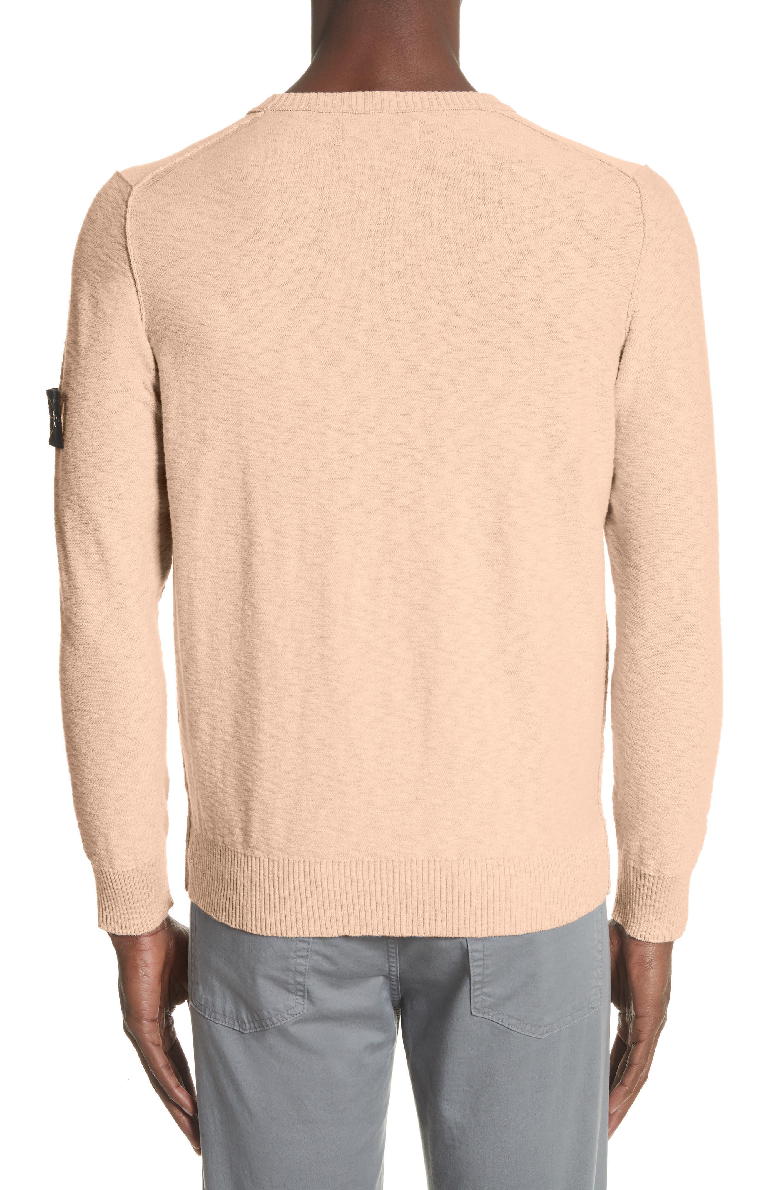 Garment Dyed Cotton Blend Sweatshirt,                             Alternate thumbnail 2, color,                             Coral
