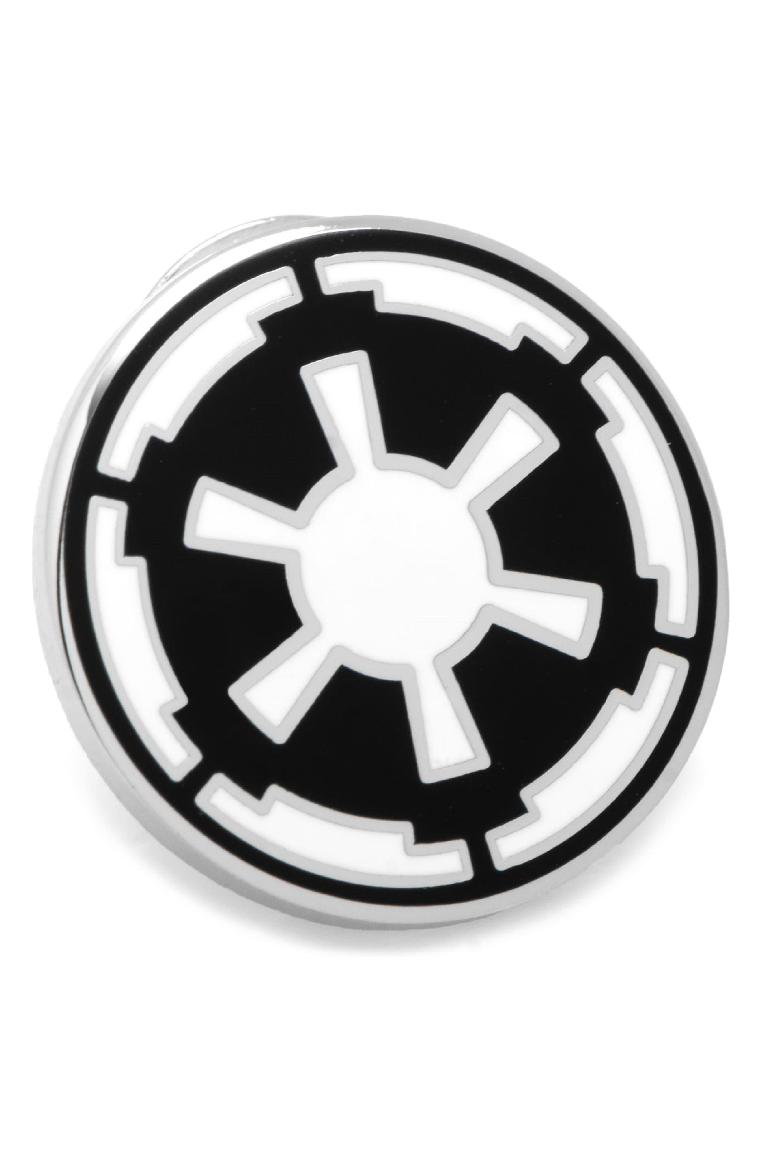 Star Wars<sup>™</sup> - Imperial Lapel Pin,                             Main thumbnail 1, color,                             Silver