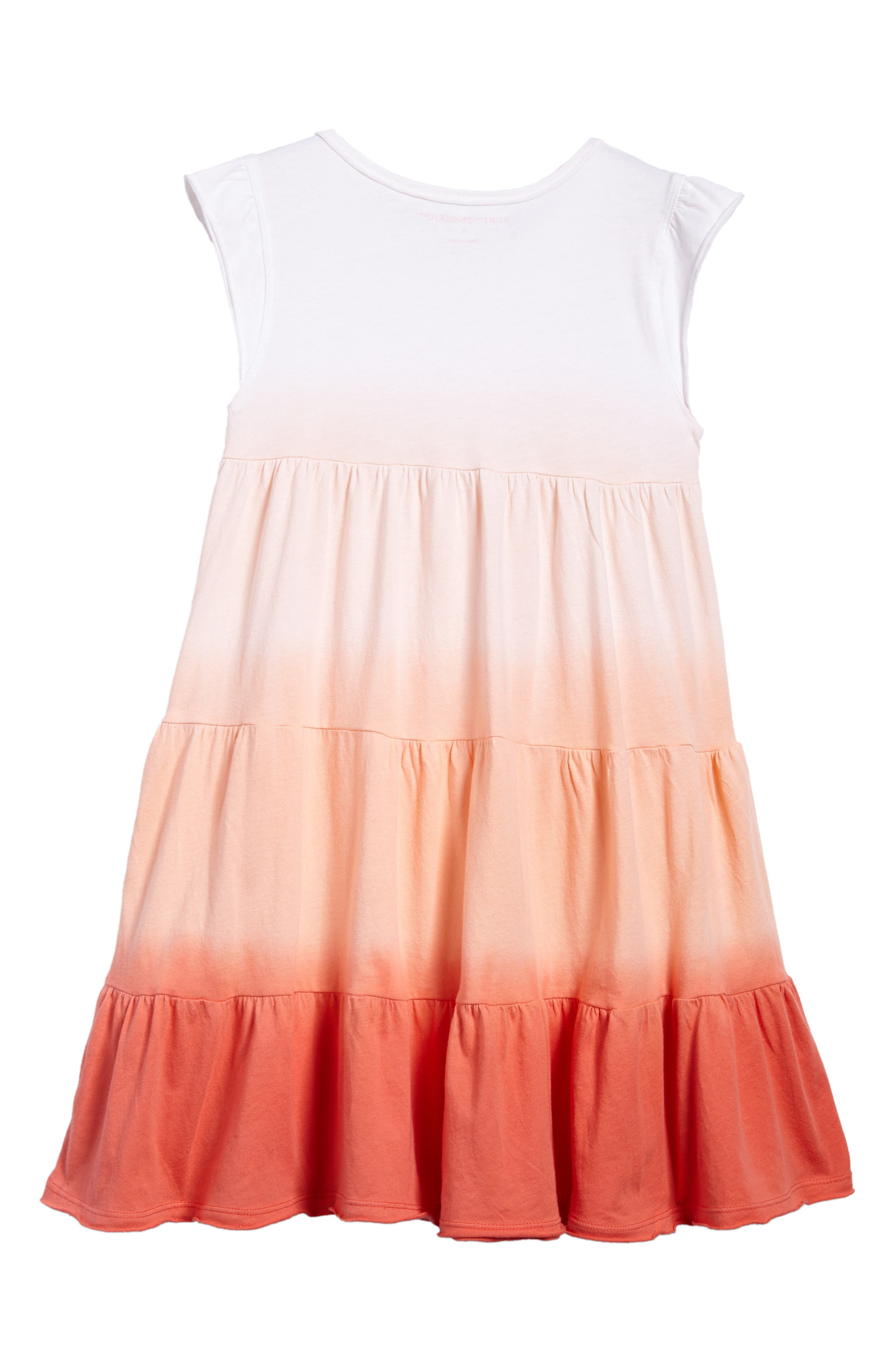 Dip Dye Organic Cotton Dress,                             Alternate thumbnail 2, color,                             Cactus Bloom