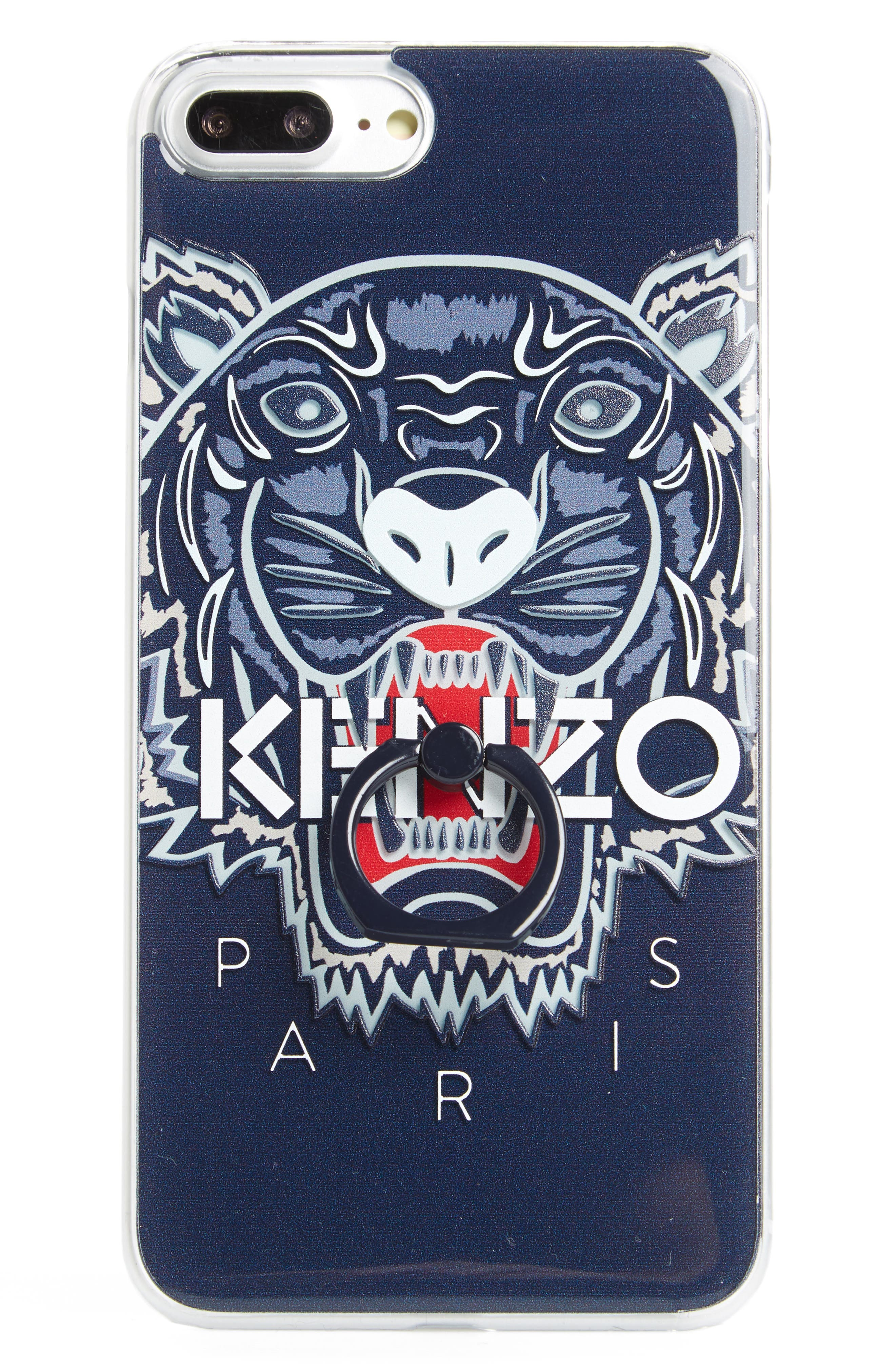 Alternate Image 1 Selected - KENZO 3D Tiger Ring iPhone 7 Plus Case