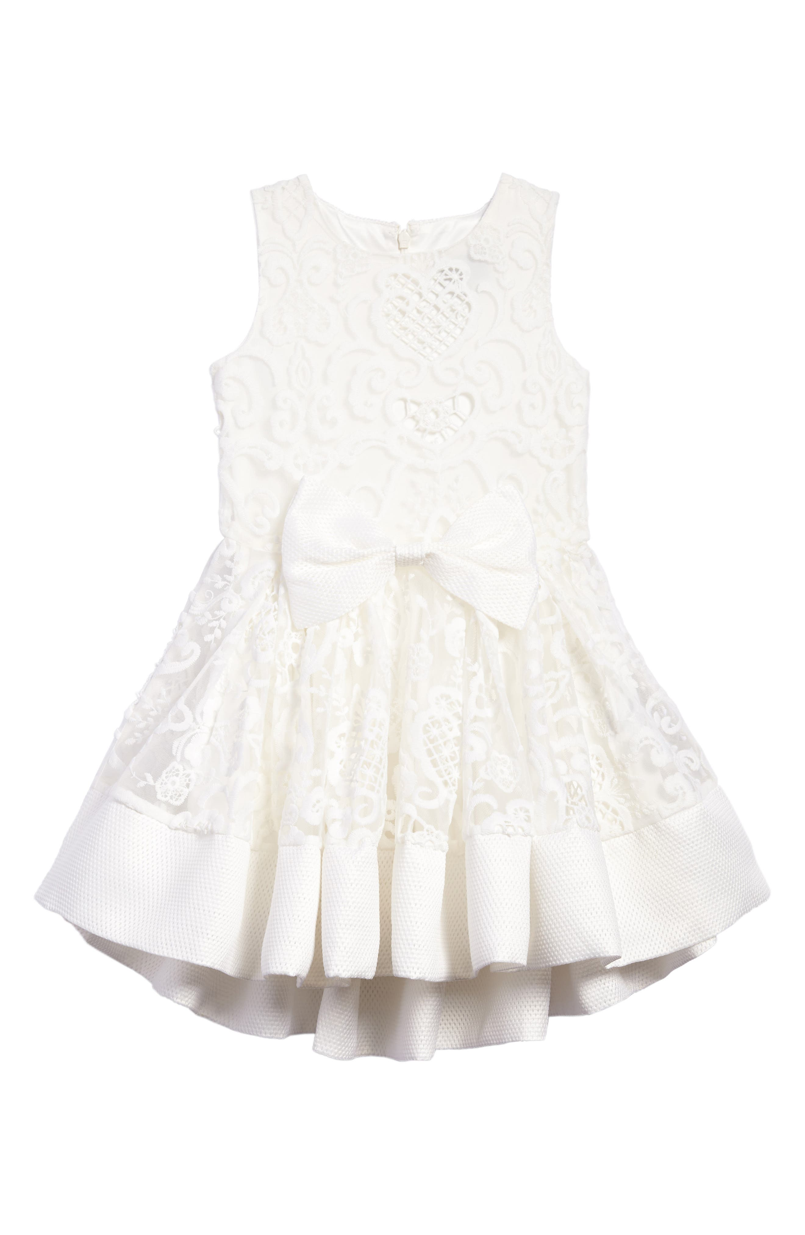 Ava Starlet Dress,                             Main thumbnail 1, color,                             Ivory