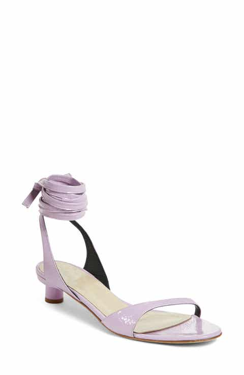 Tibi Scott Ankle Tie Sandal (Women)