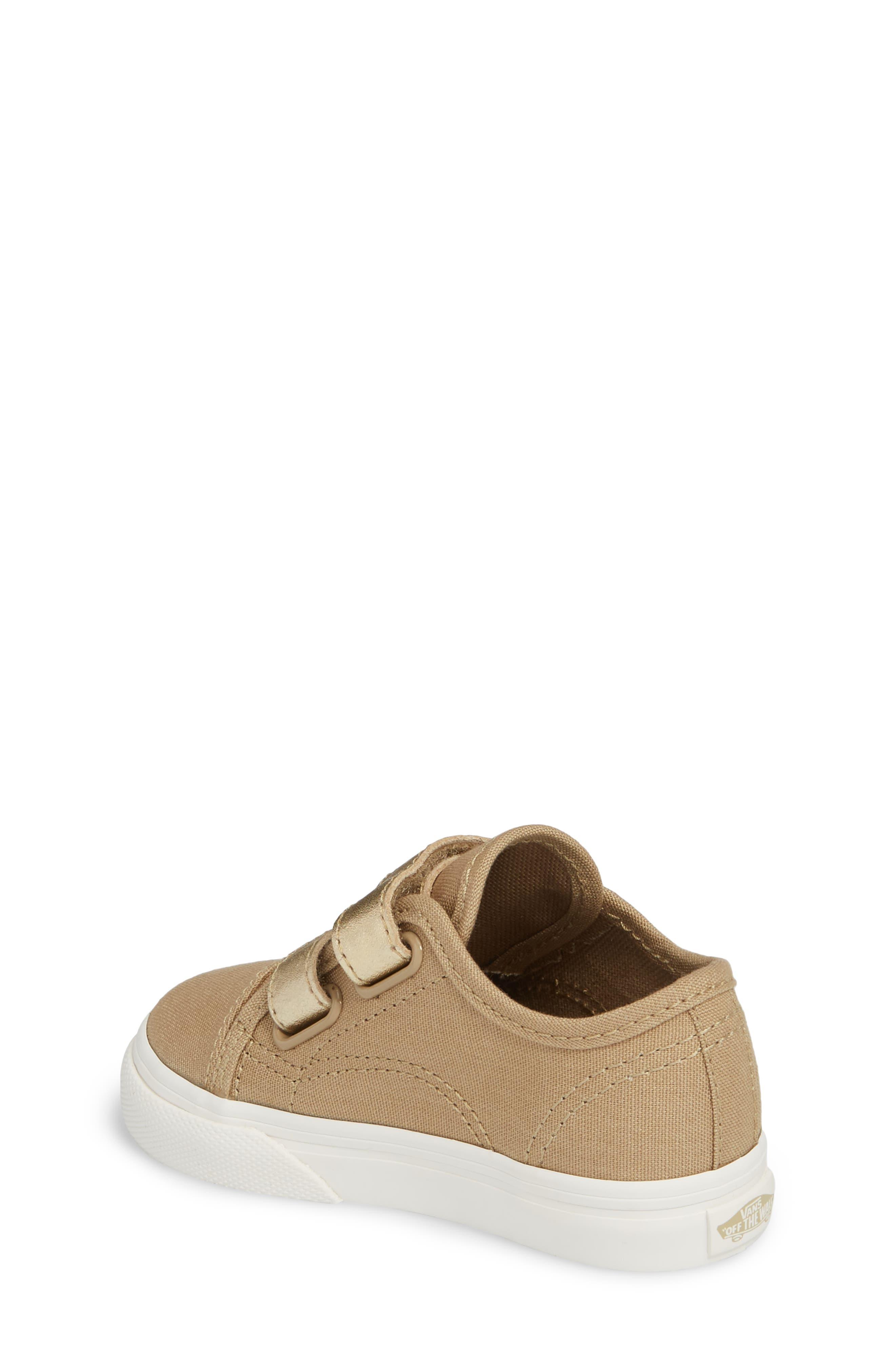 Style 23 V Sneaker,                             Alternate thumbnail 2, color,                             Metallic/ Cornstalk