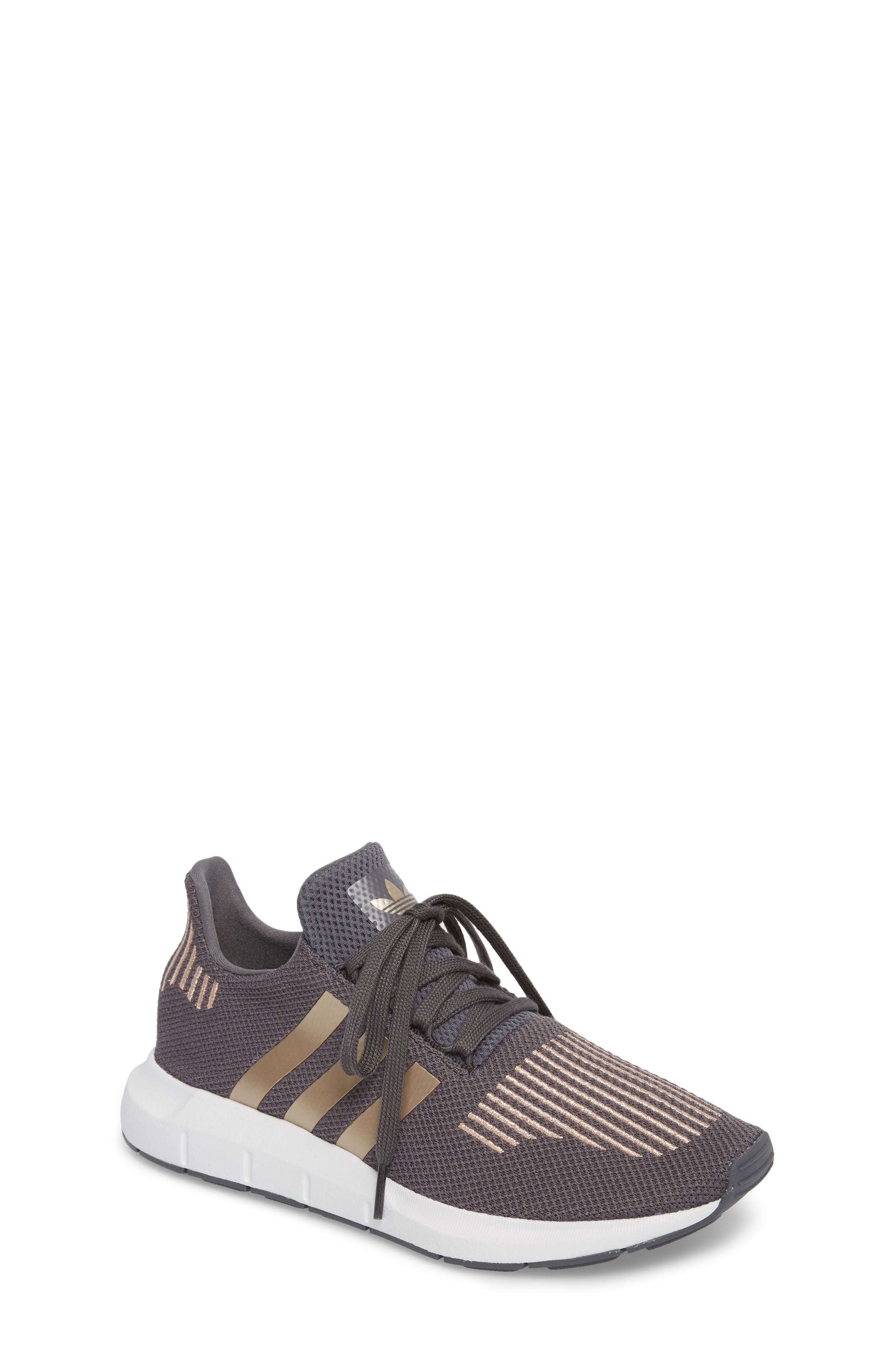 Swift Run Sneaker,                         Main,                         color, Grey / Copper / White