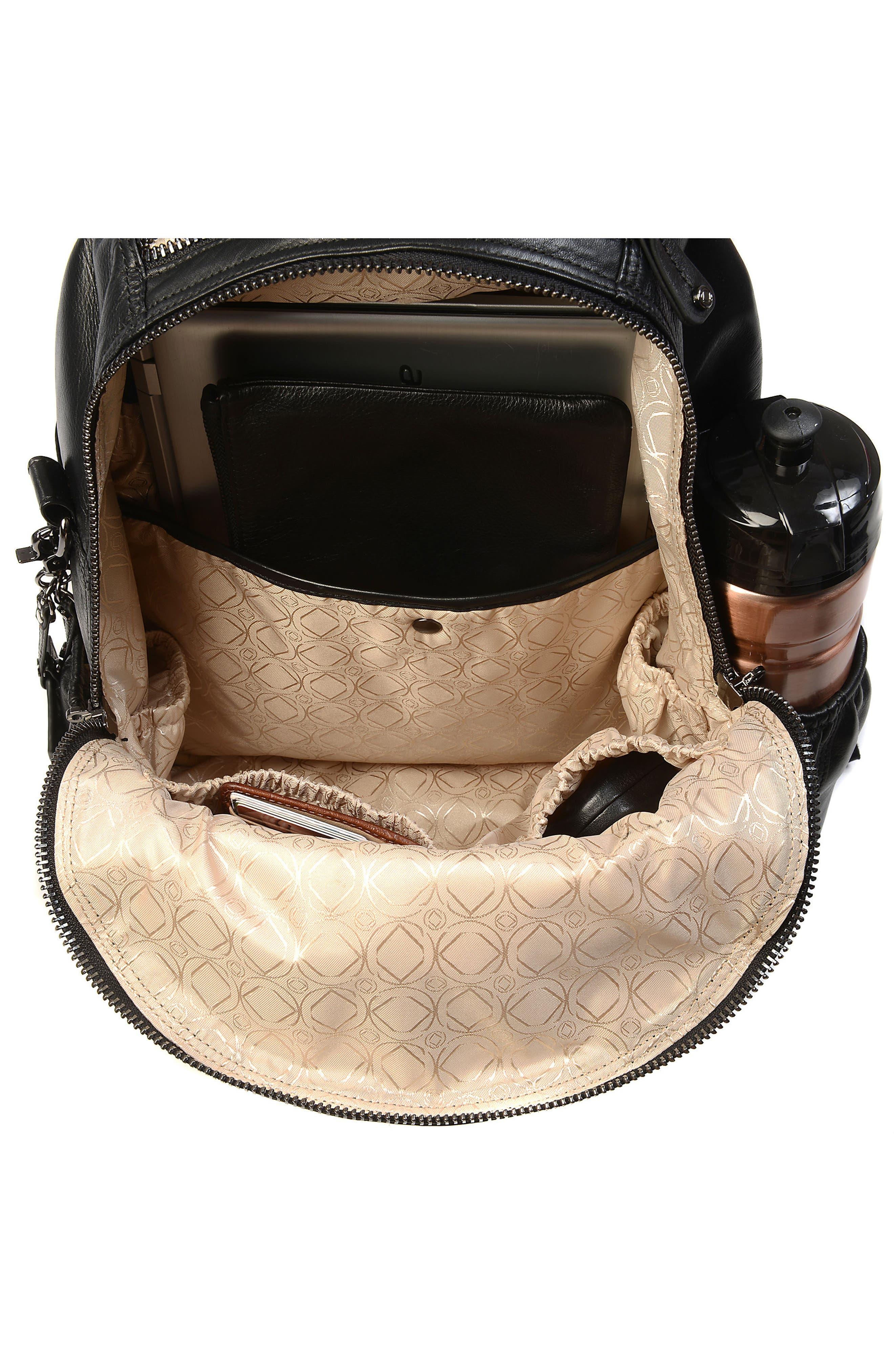 Alternate Image 5  - Kerikit Joy XL Leather Diaper Backpack