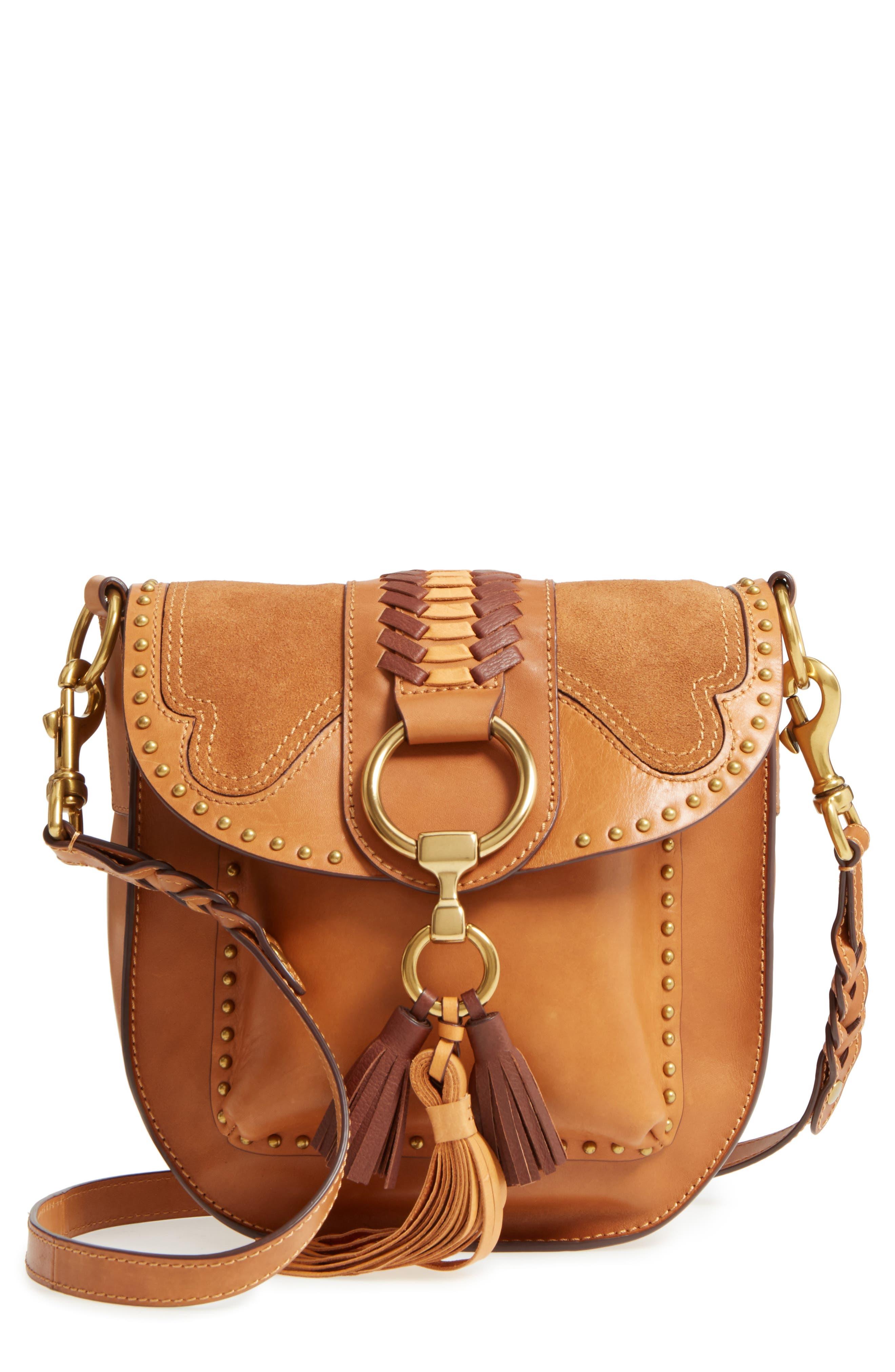 Frye Ilana Western Harness Leather Saddle Bag
