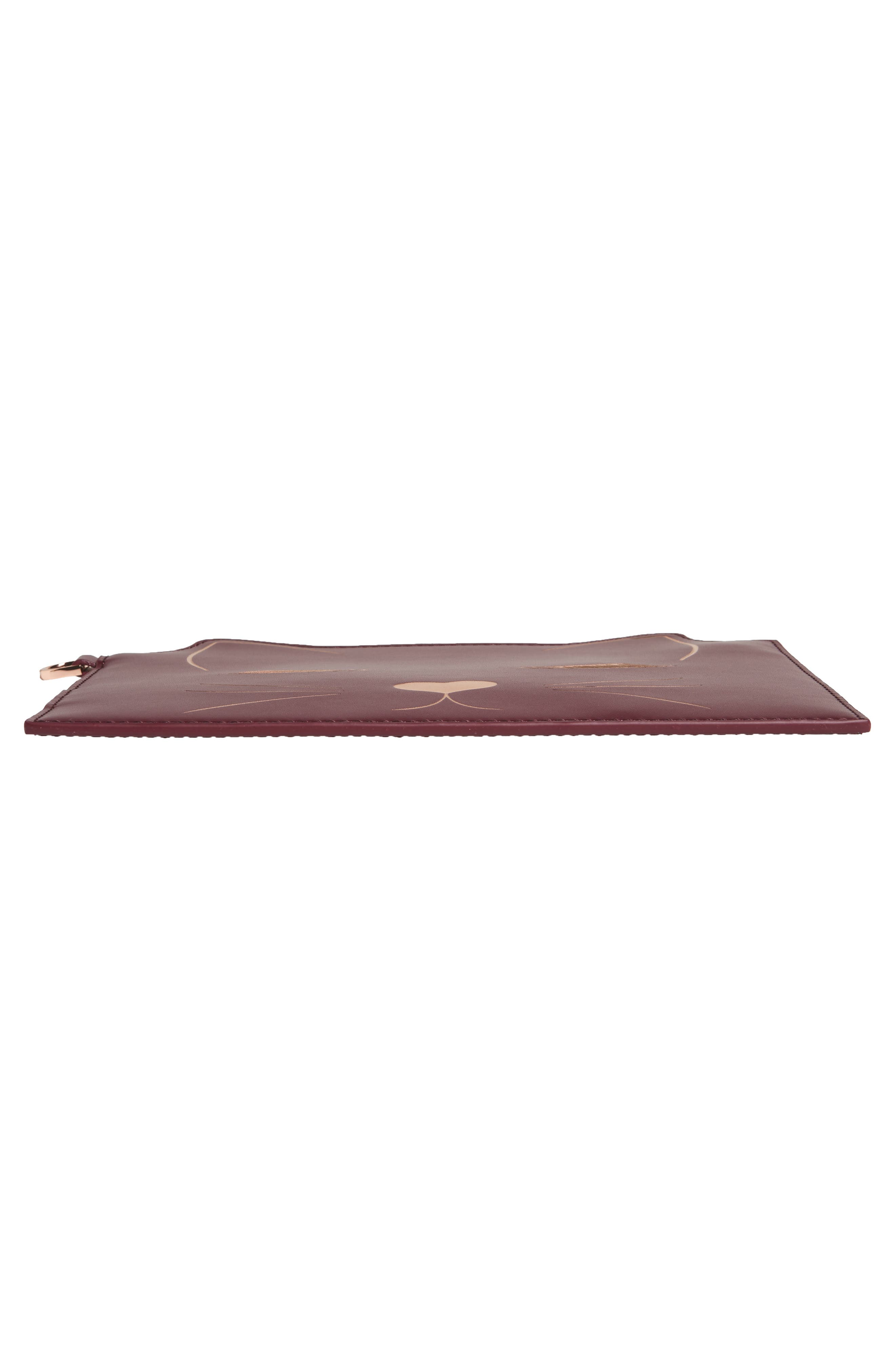 Alternate Image 6  - Ted Baker London Felixea Leather Pouch