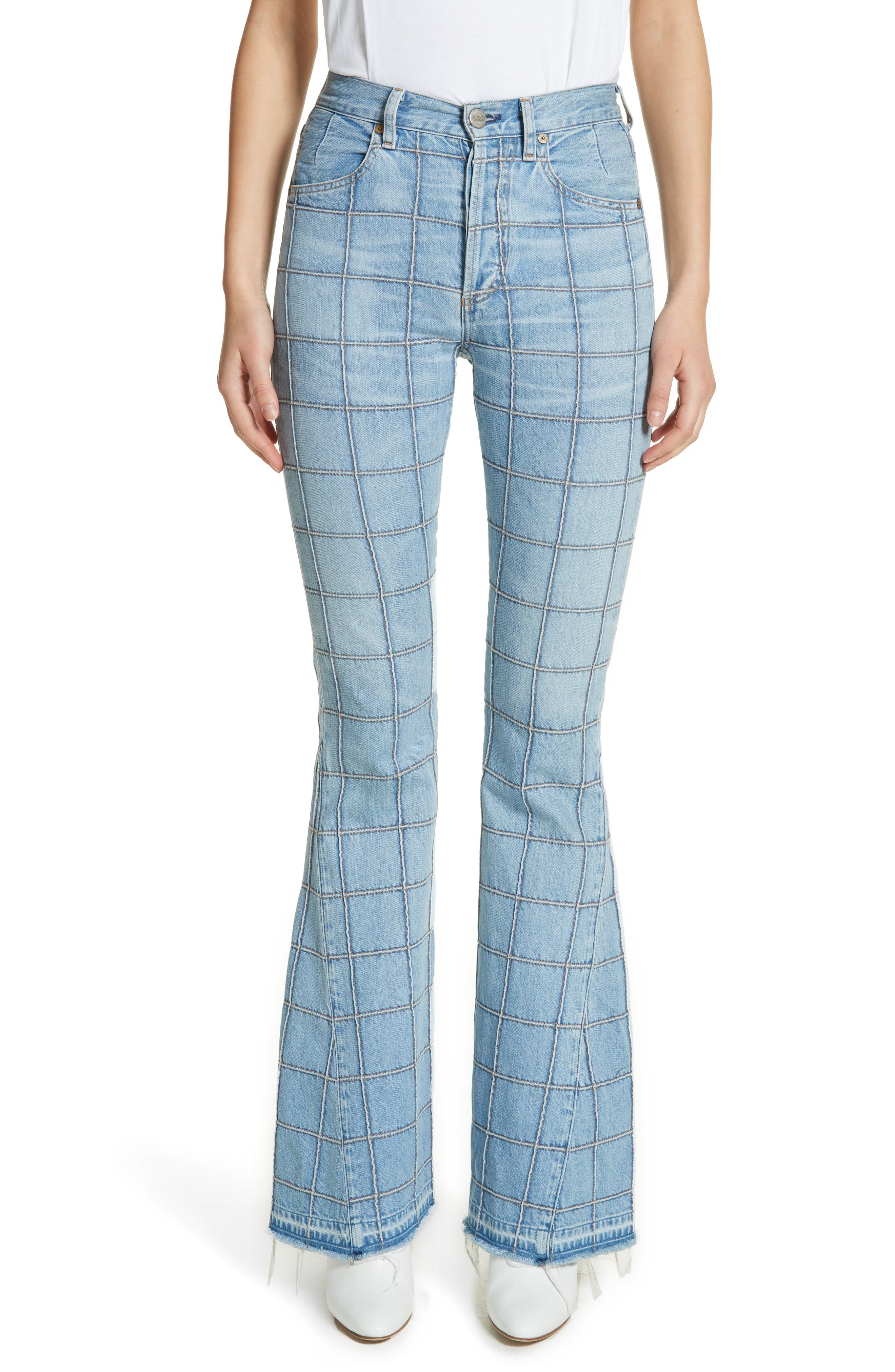 Janis High Rise Flare Jeans,                             Main thumbnail 1, color,                             Carnaby