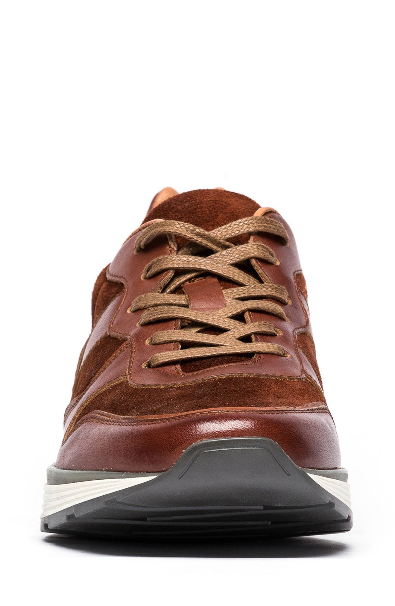 Hickory Sneaker,                             Alternate thumbnail 4, color,                             Tan Leather