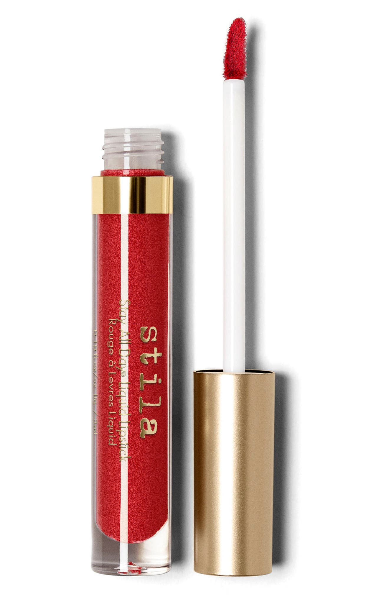 Stay All Day<sup>®</sup> Shimmer Liquid Lipstick,                             Main thumbnail 1, color,                             Beso Shimmer