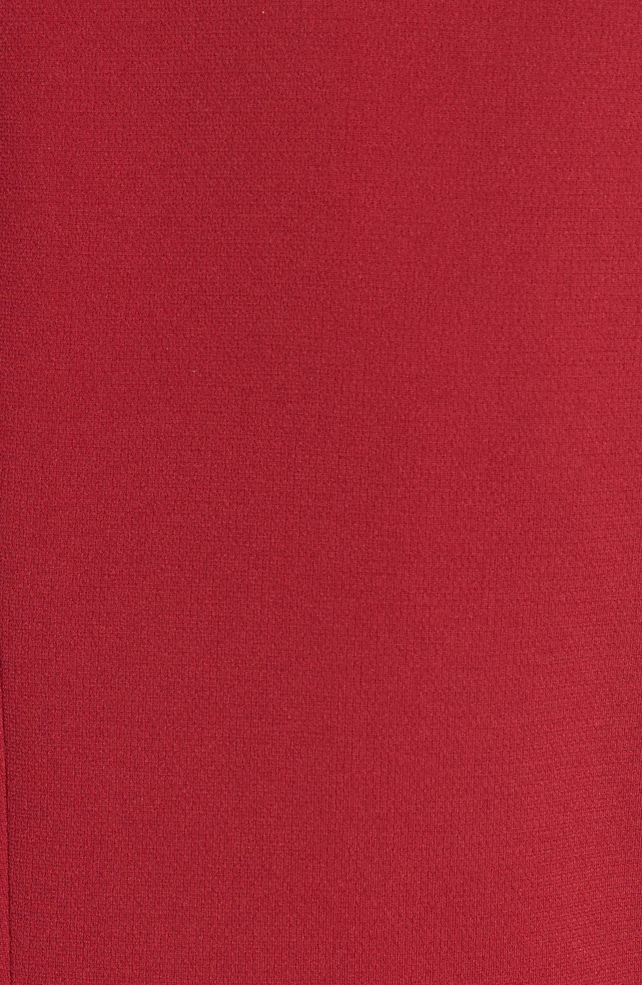 Admiral Crepe Power Jacket,                             Alternate thumbnail 5, color,                             Bright Raspberry