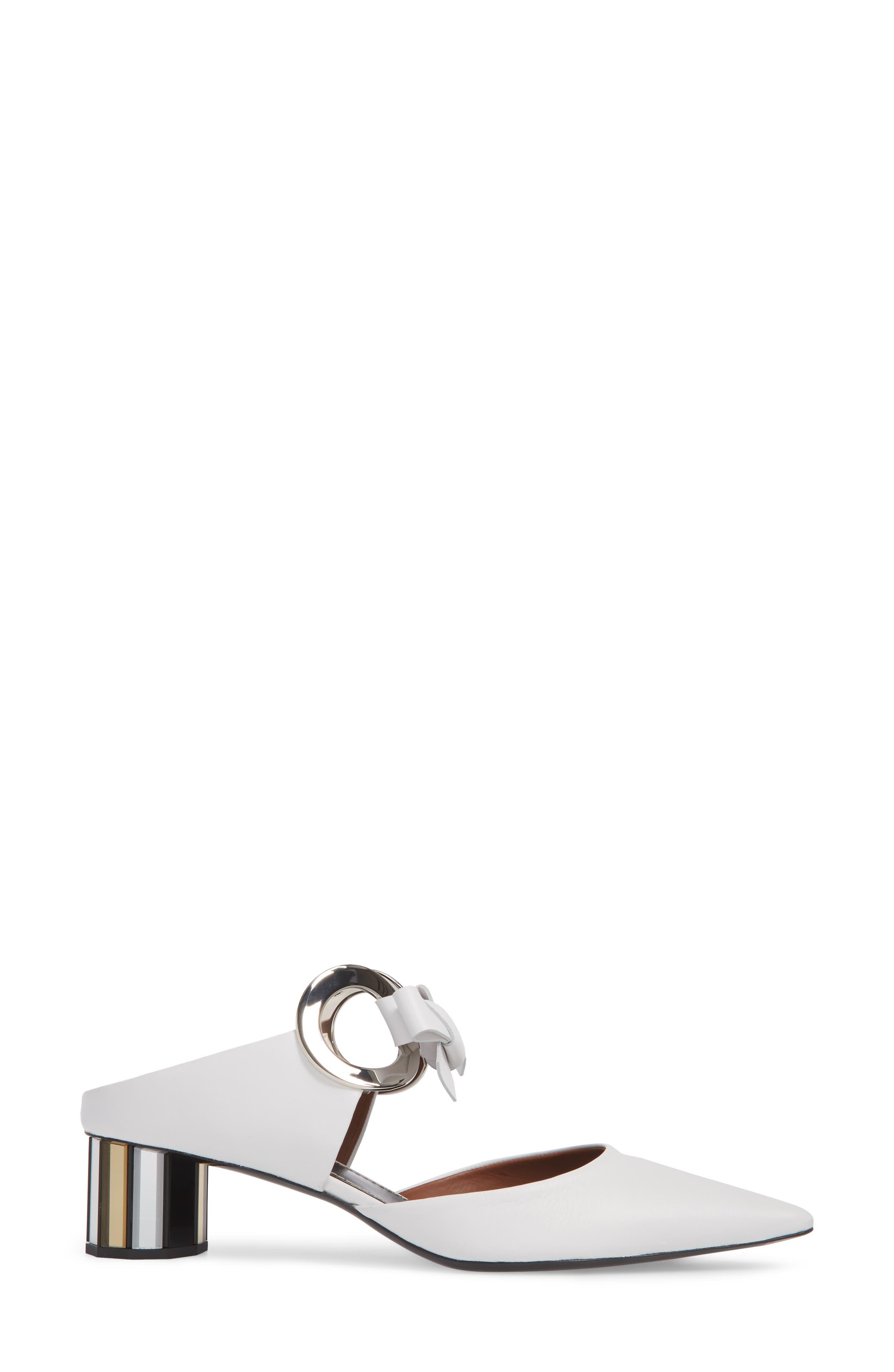 Alternate Image 3  - Proenza Schouler Ring Tie Pointy Toe Pump (Women)