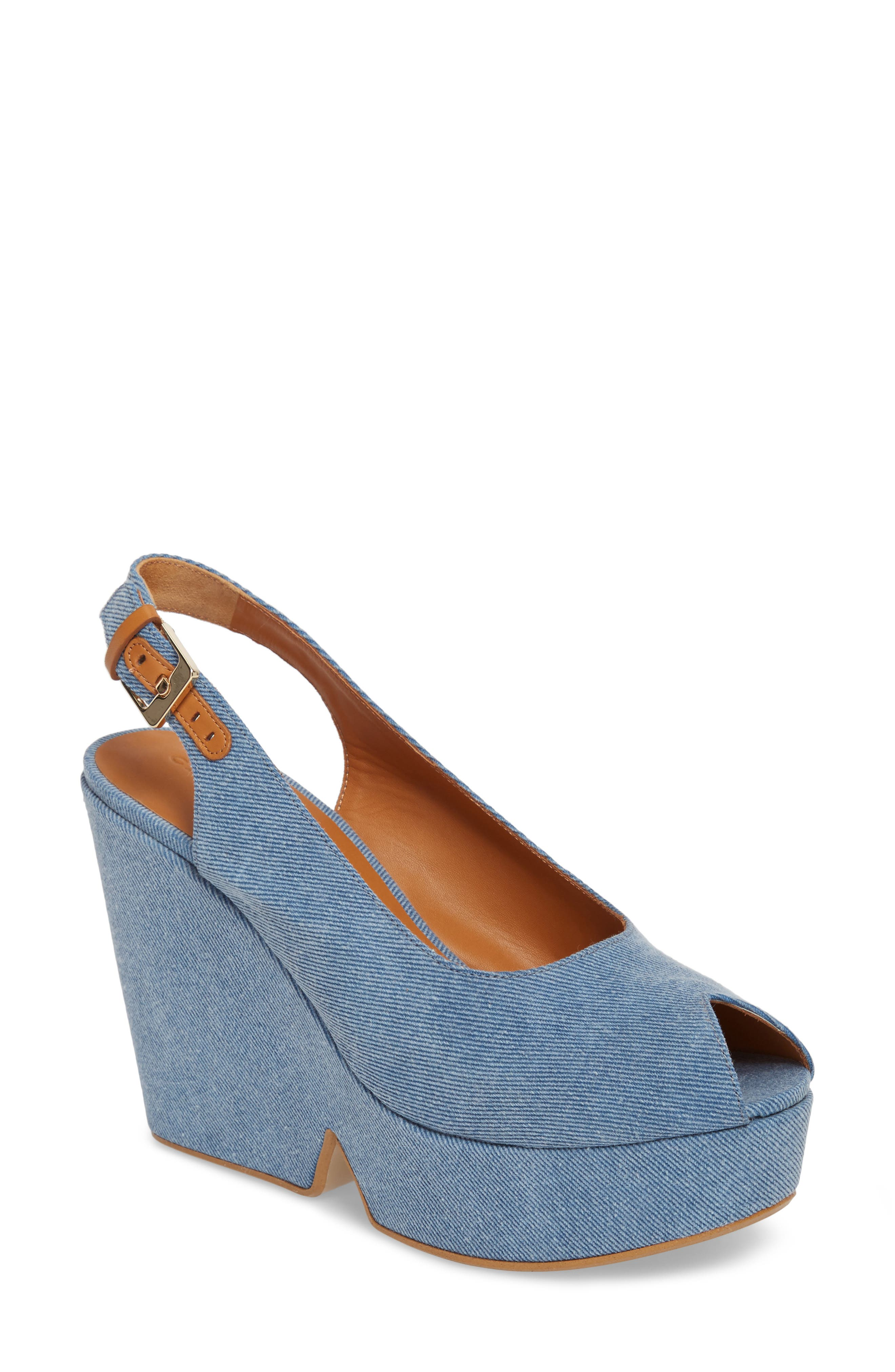 Alternate Image 1 Selected - Robert Clergerie Dylanto Platform Wedge Sandal (Women)