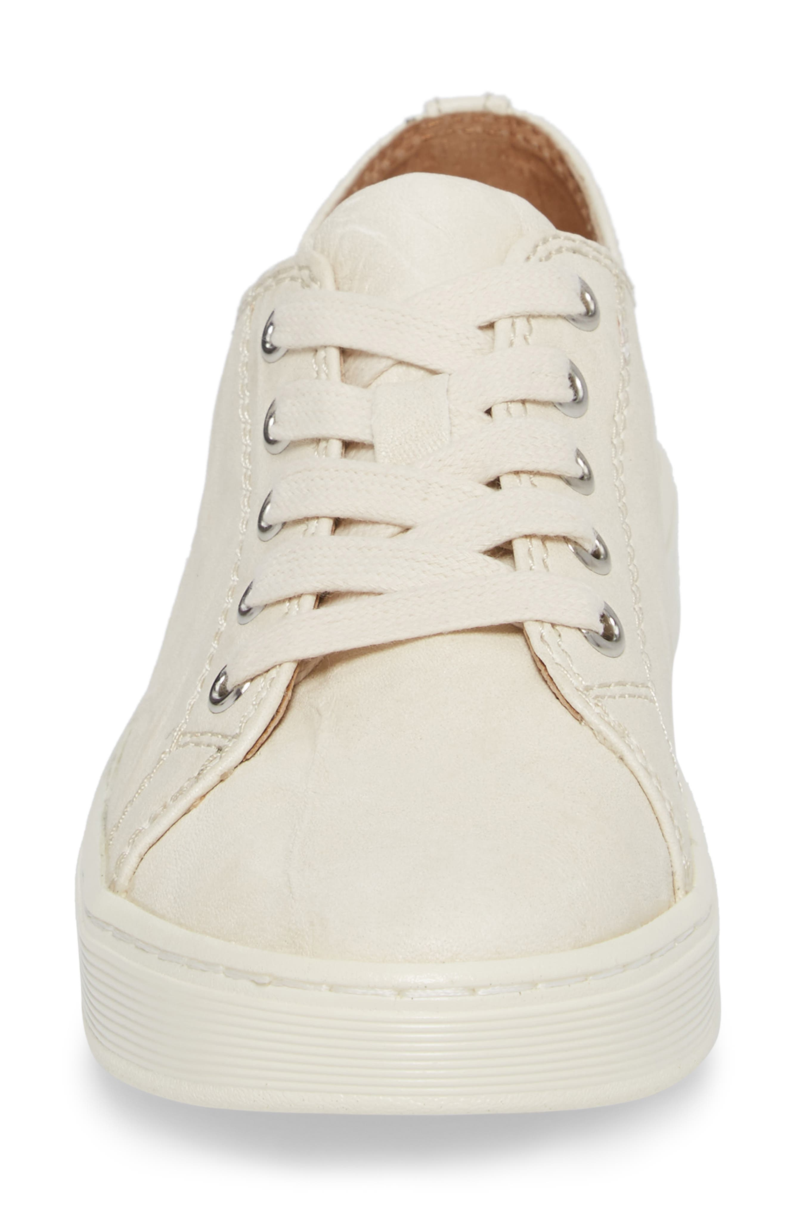 Baltazar Sneaker,                             Alternate thumbnail 4, color,                             Latte Leather
