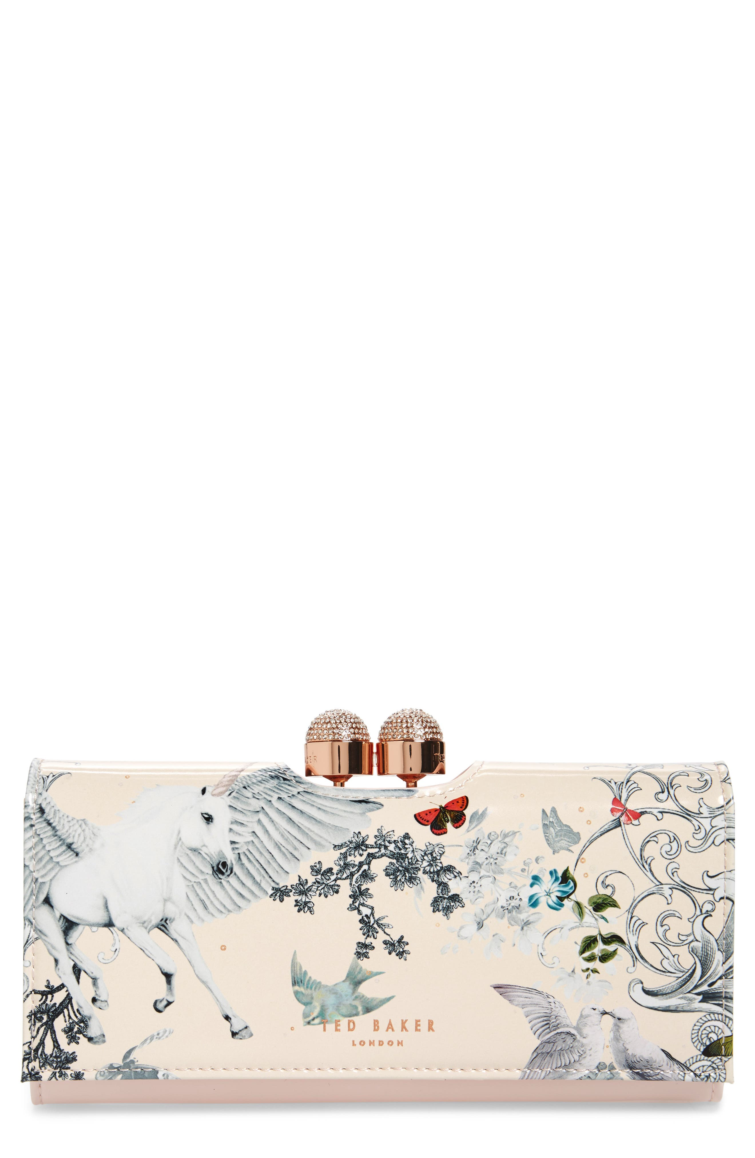 Main Image - Ted Baker London Maycie Enchant Leather Matinée Wallet