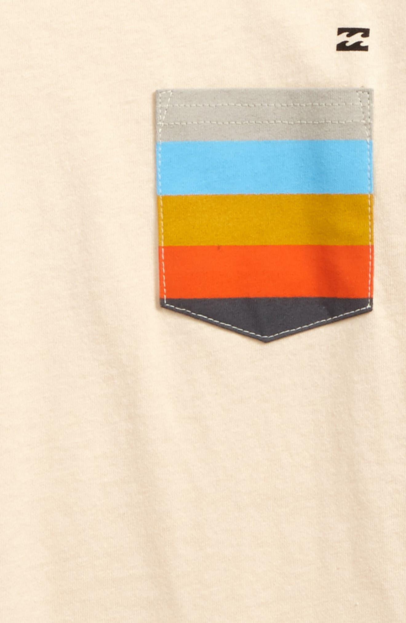 Team Pocket T-Shirt,                             Alternate thumbnail 2, color,                             Cream