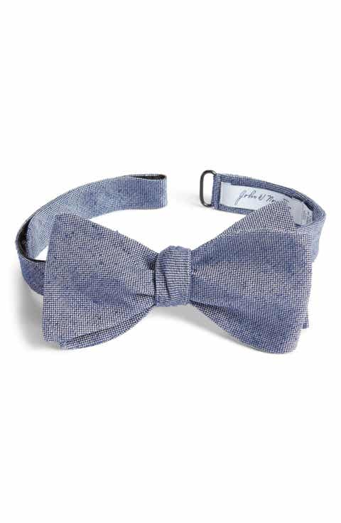 Mens bow ties self tying traditional nordstrom john w nordstrom solid silk bow tie ccuart Images