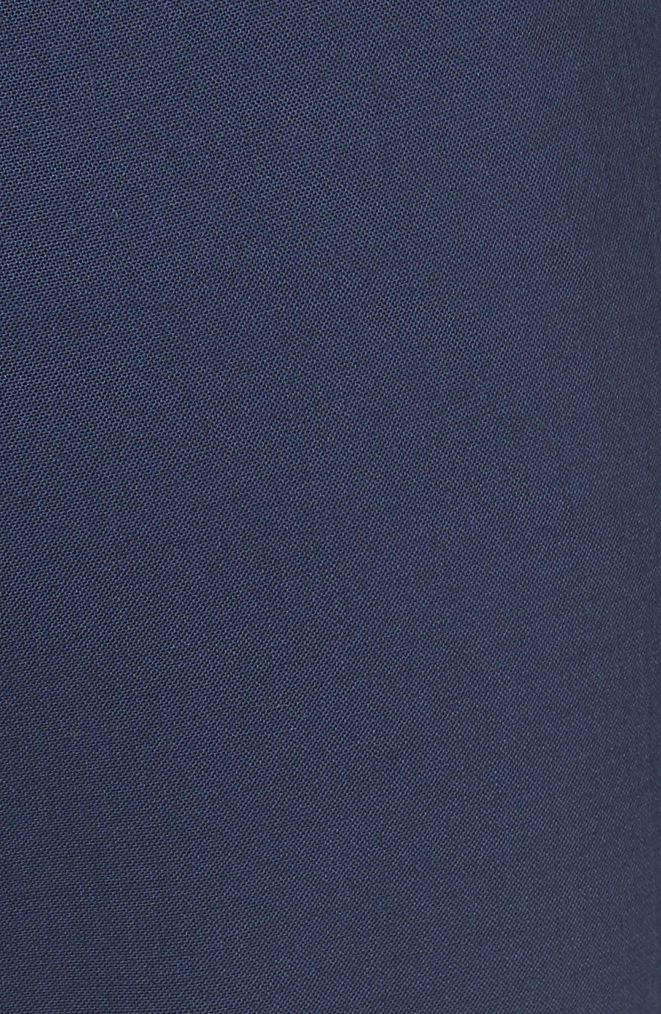 Treeca 2 Good Wool Crop Suit Pants,                             Alternate thumbnail 5, color,                             Sea Blue