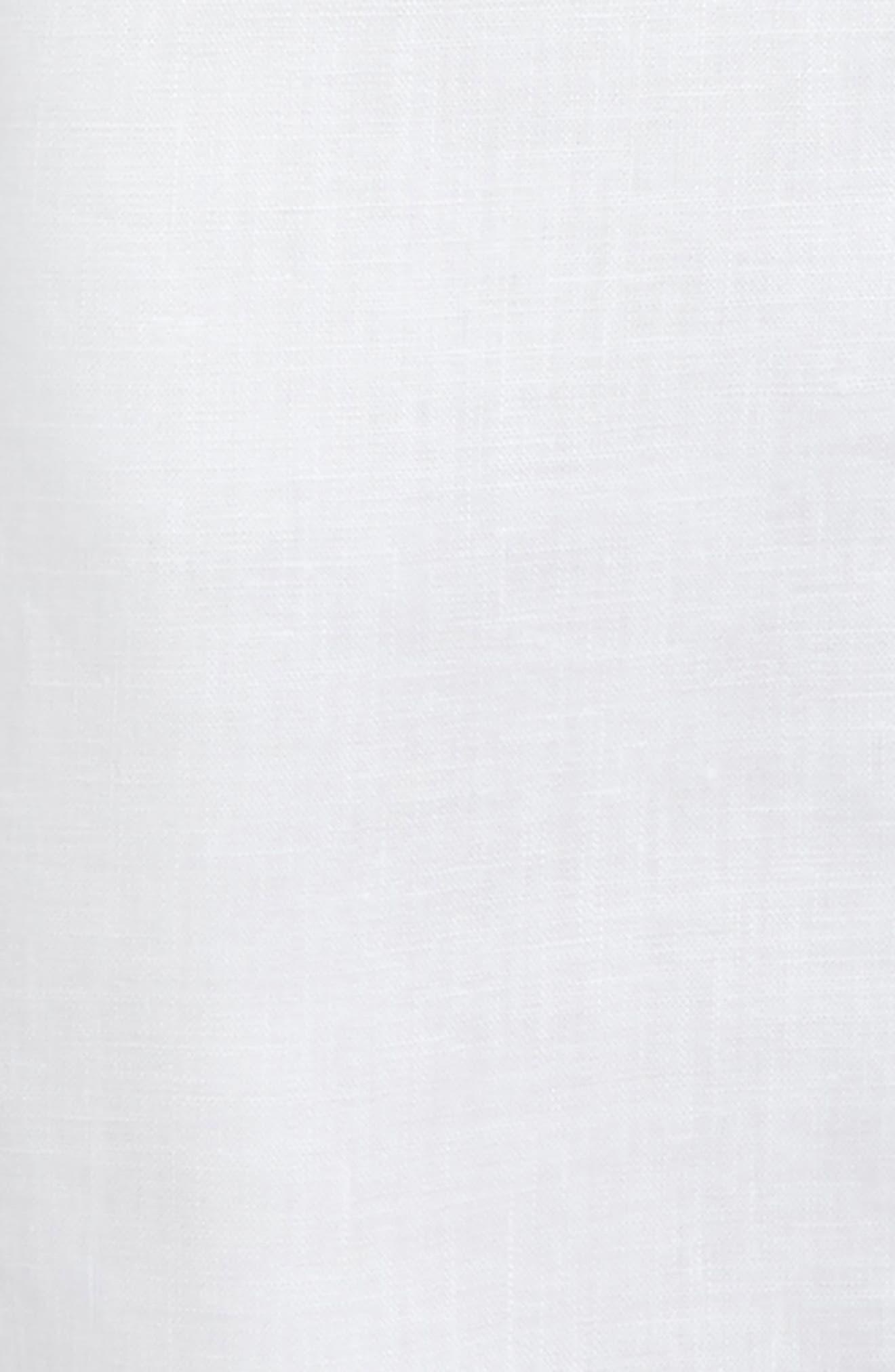 Linen Shirt,                             Alternate thumbnail 2, color,                             White
