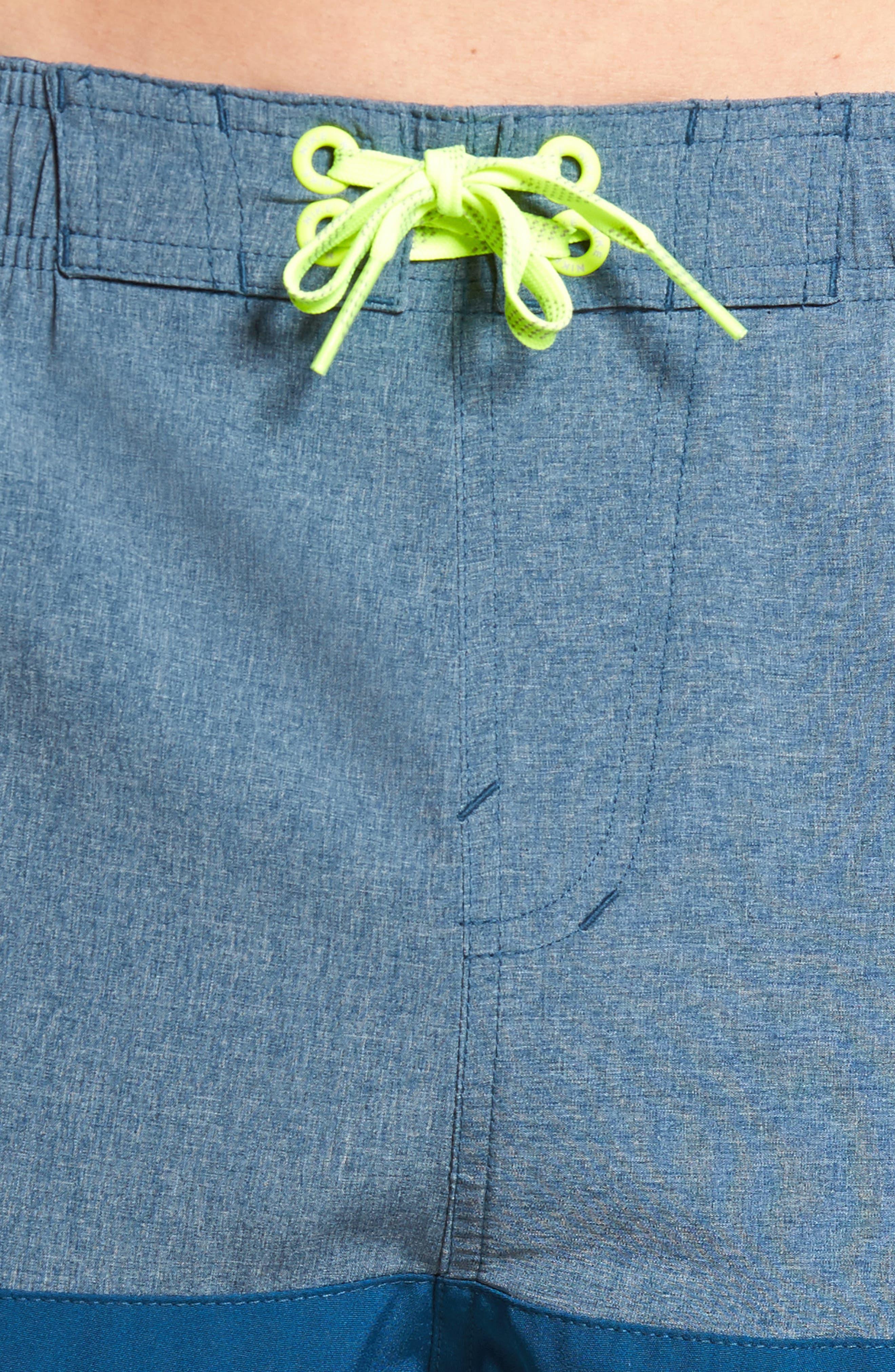 Split Board Shorts,                             Alternate thumbnail 4, color,                             Blue Force