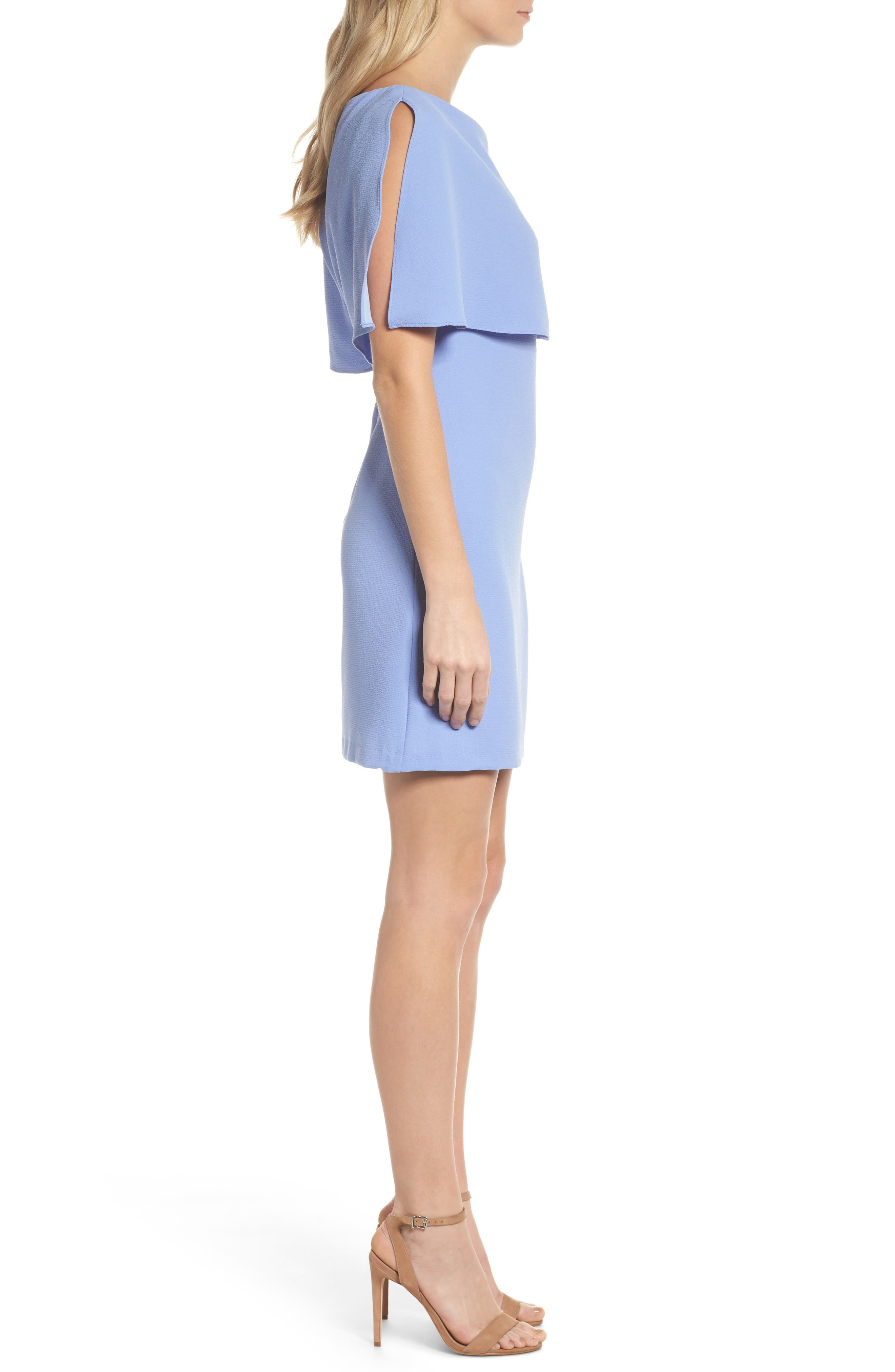 Alternate Image 3  - Adrianna Papell Split Sleeve Sheath Dress