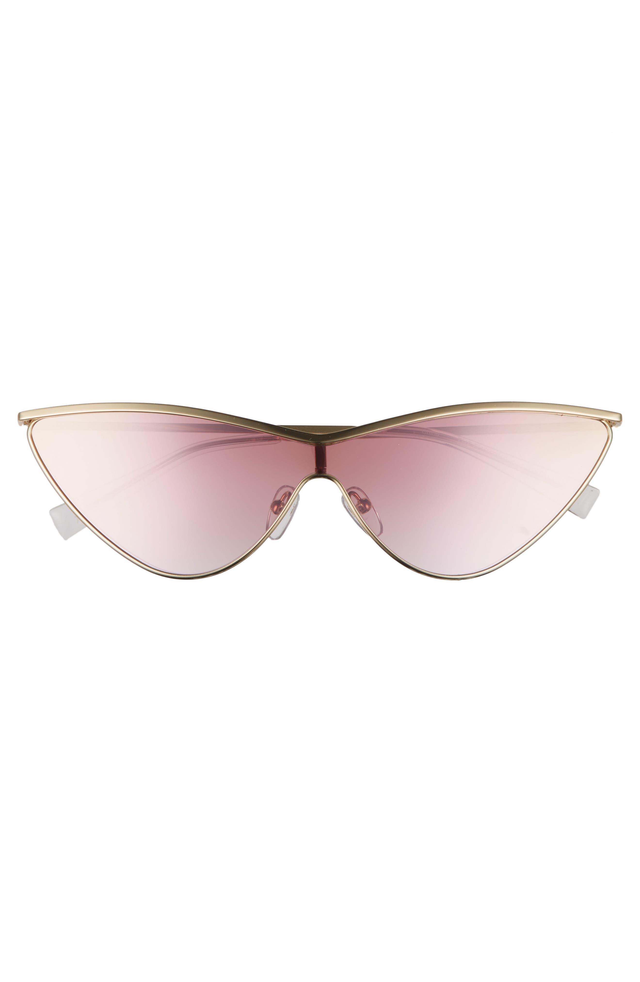 Alternate Image 3  - Adam Selman x Le Specs Luxe The Fugitive 71mm Sunglasses