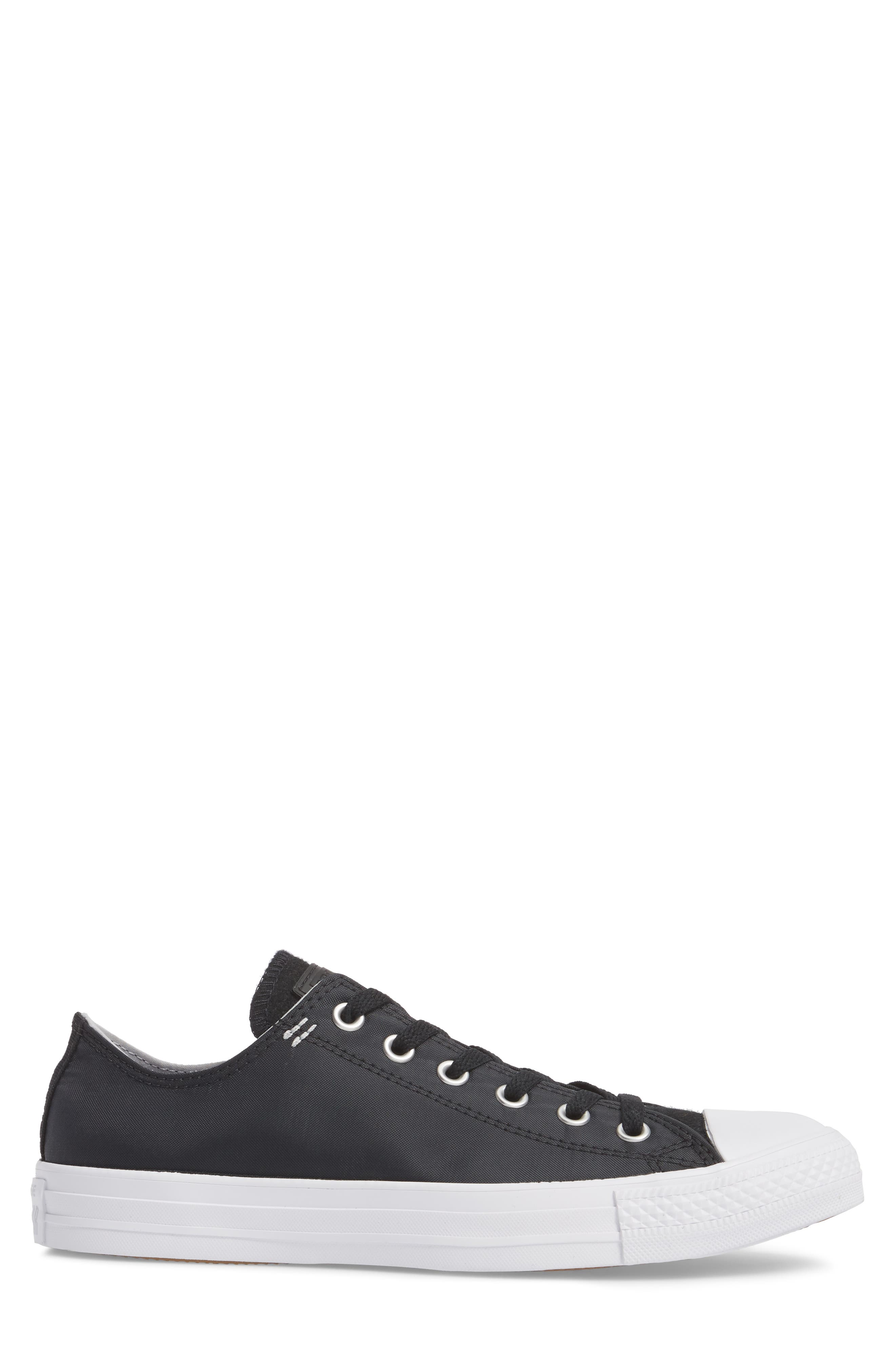 All Star<sup>®</sup> OX Low Top Sneaker,                             Alternate thumbnail 3, color,                             Black