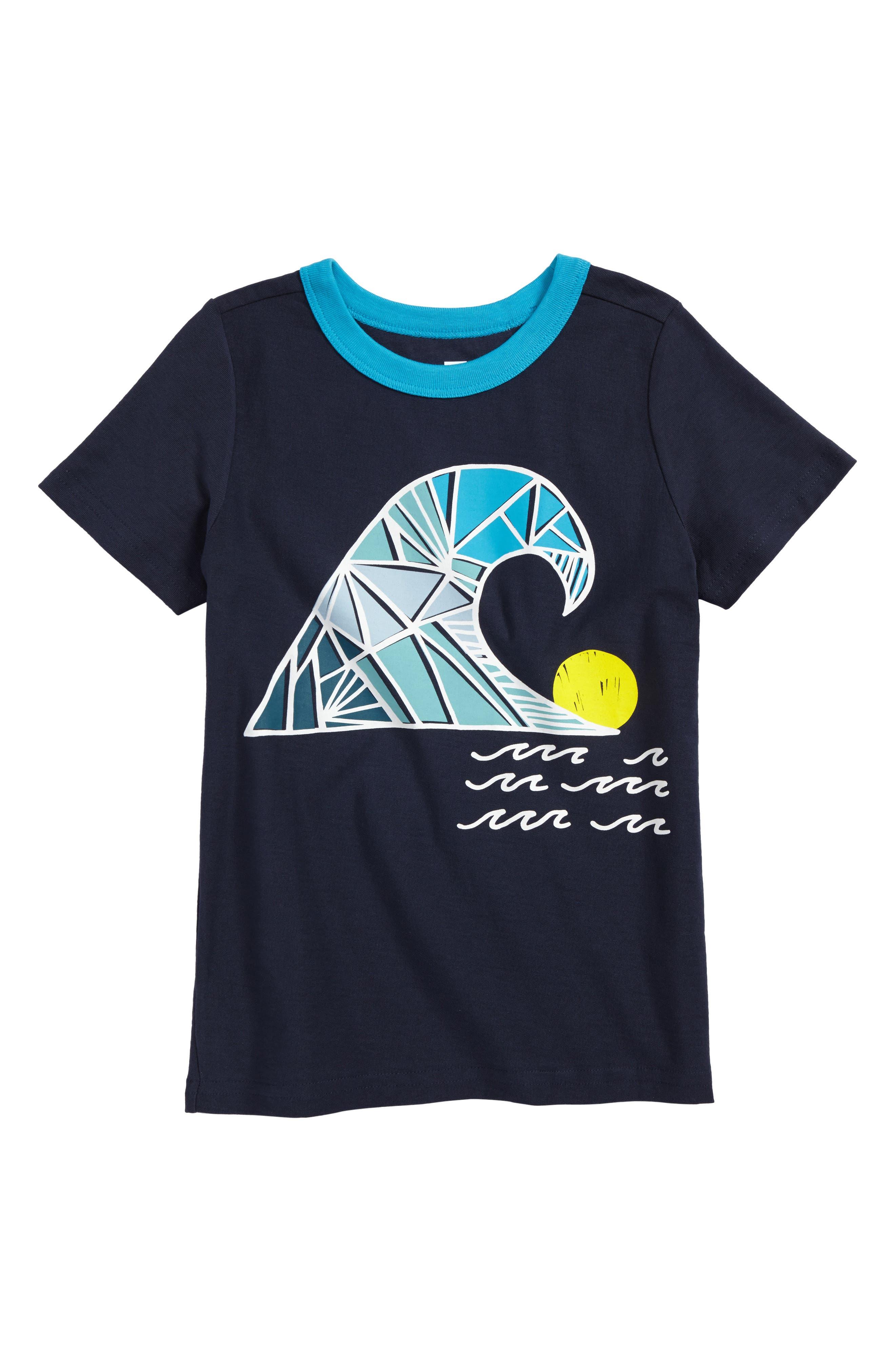 Swell Day T-Shirt,                             Main thumbnail 1, color,                             Indigo