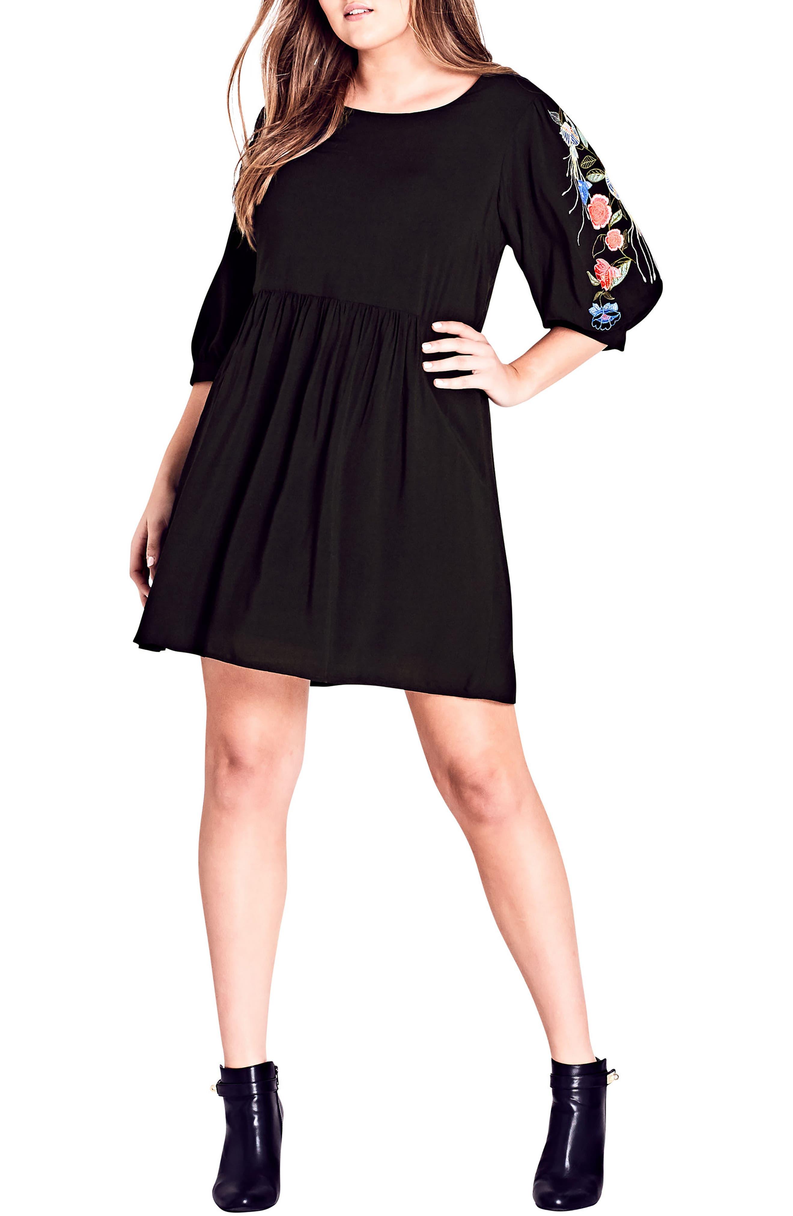 Phoenix Dress,                             Main thumbnail 1, color,                             Black