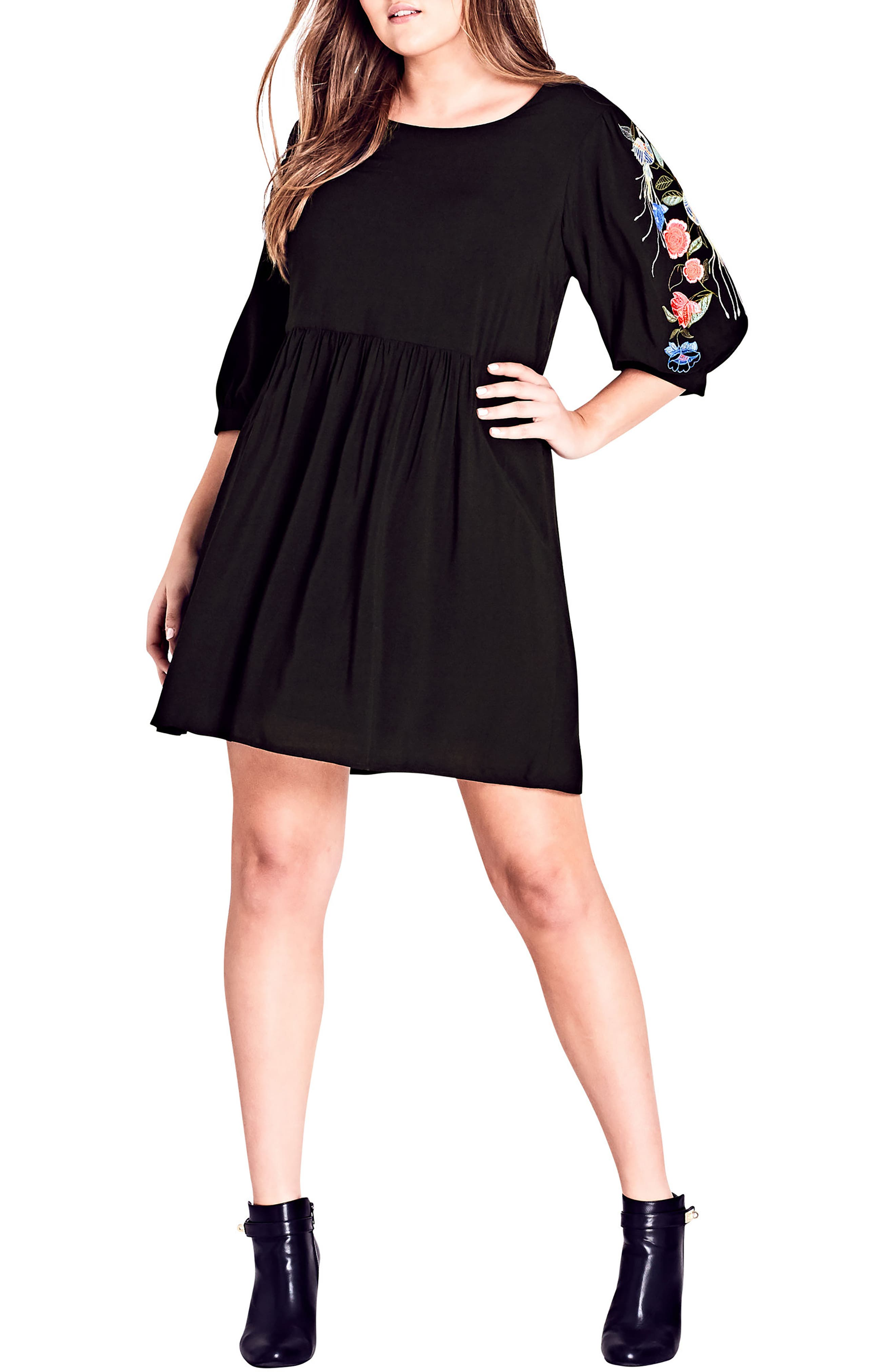Main Image - City Chic Phoenix Dress (Plus Size)