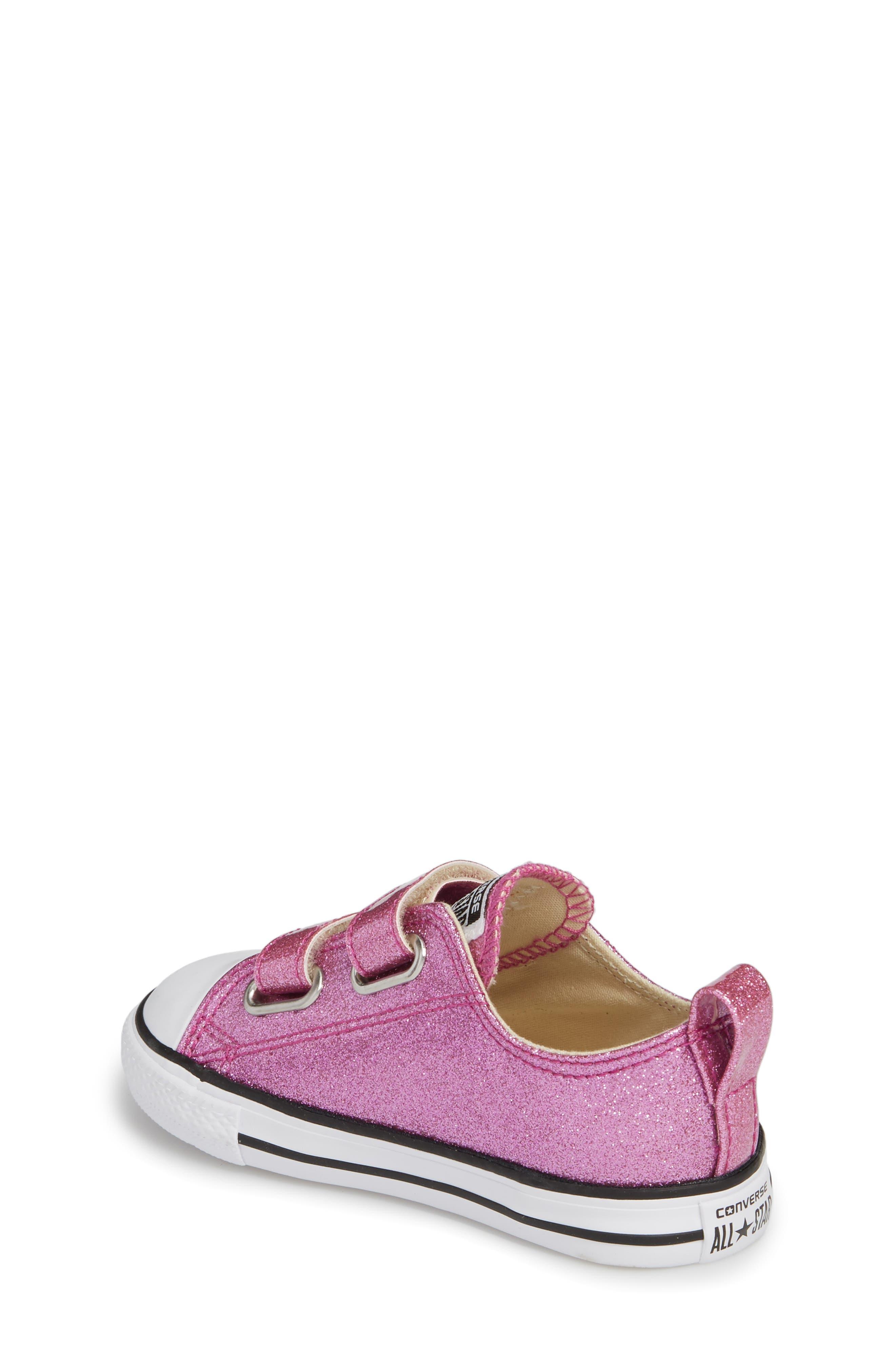 All Star<sup>®</sup> Seasonal Glitter Sneaker,                             Alternate thumbnail 2, color,                             Bright Violet
