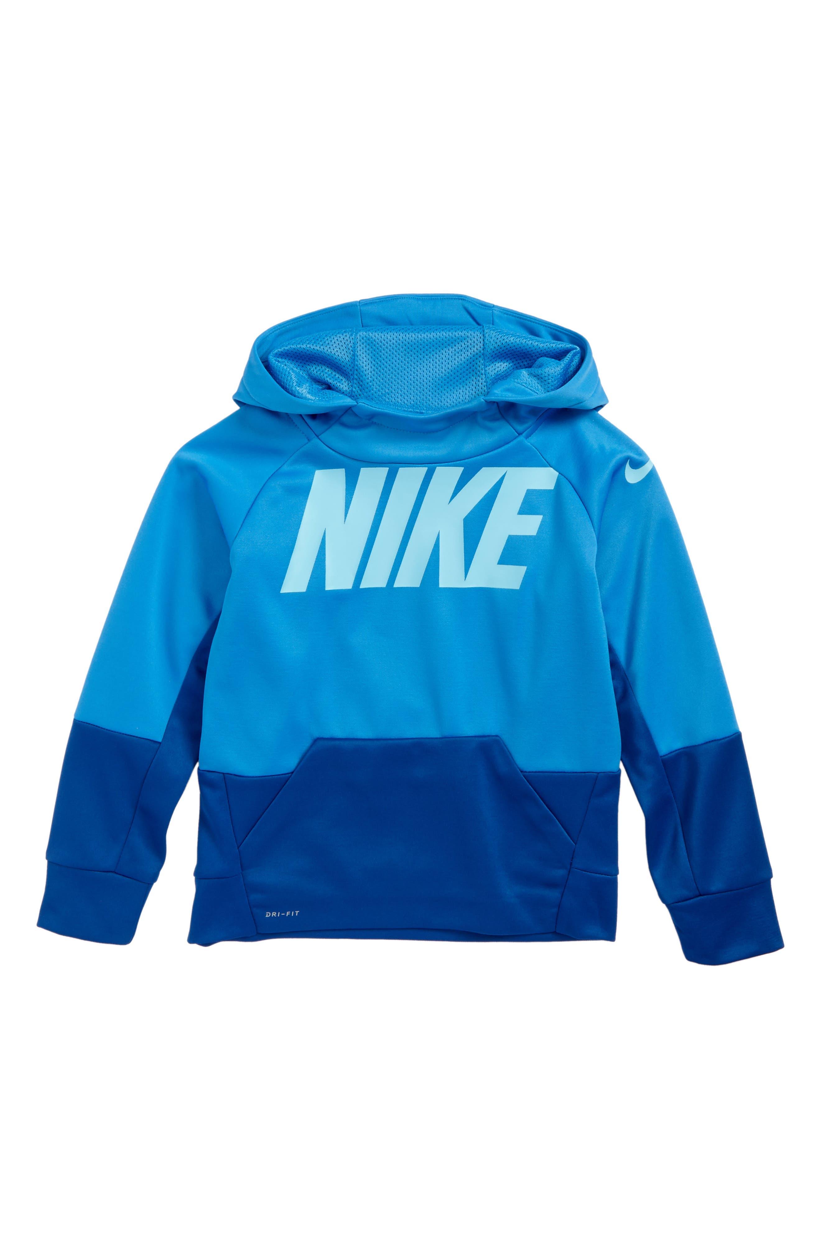 Alternate Image 1 Selected - Nike Therma Hoodie (Toddler Boys & Little Boys)