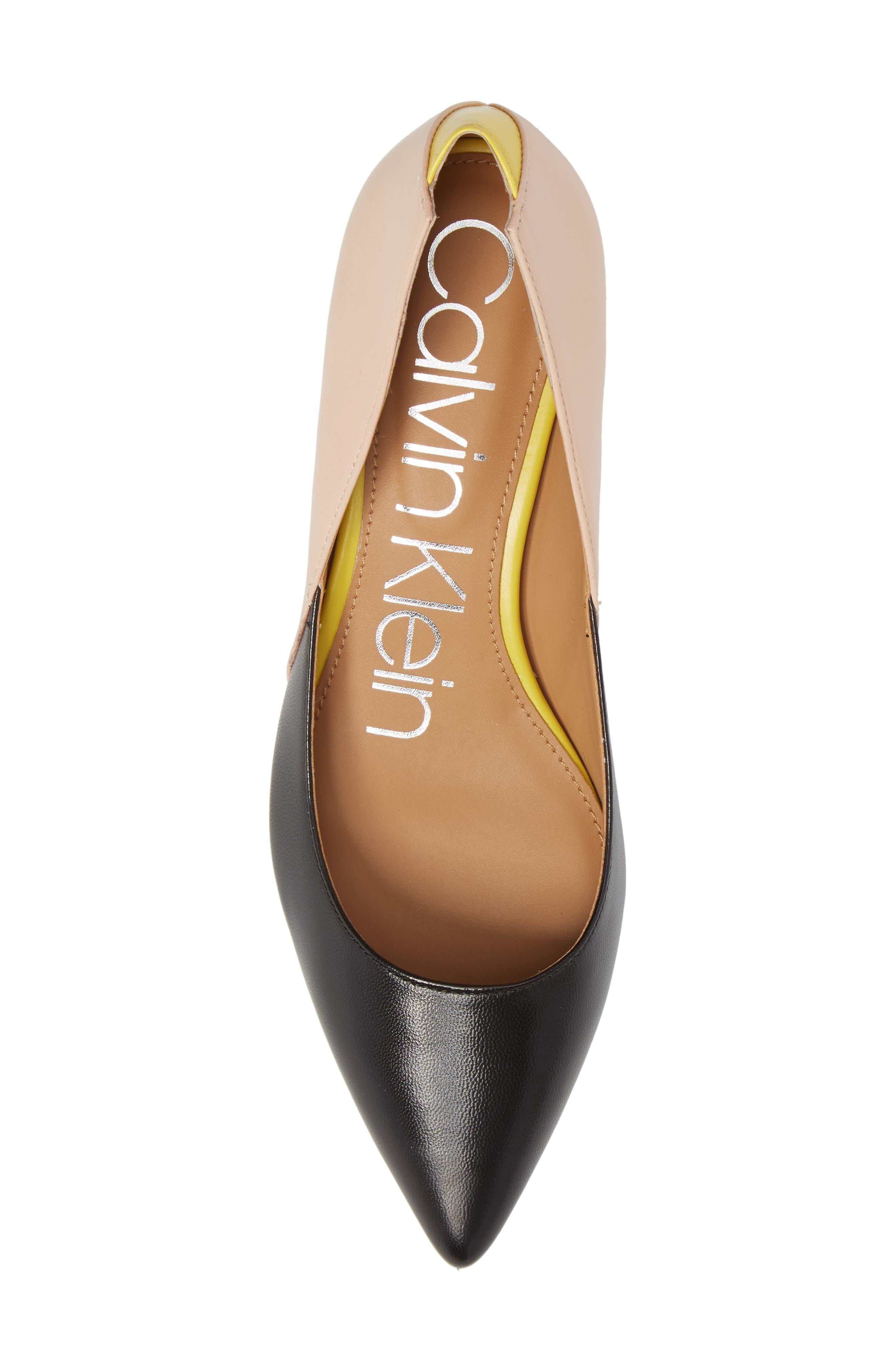 Alternate Image 5  - Calvin Klein Grayce Pointy Toe Pump (Women)
