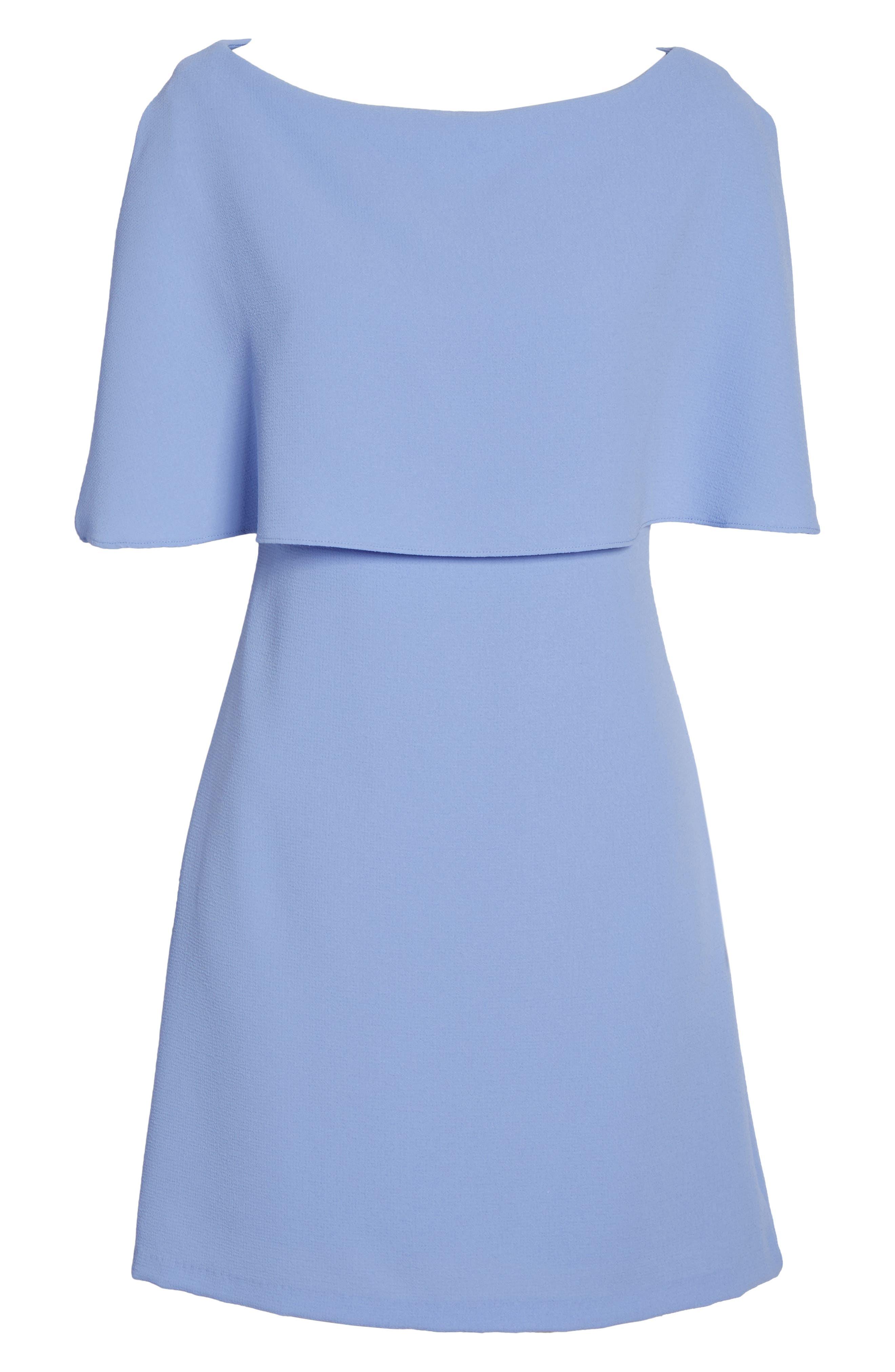 Alternate Image 6  - Adrianna Papell Split Sleeve Sheath Dress