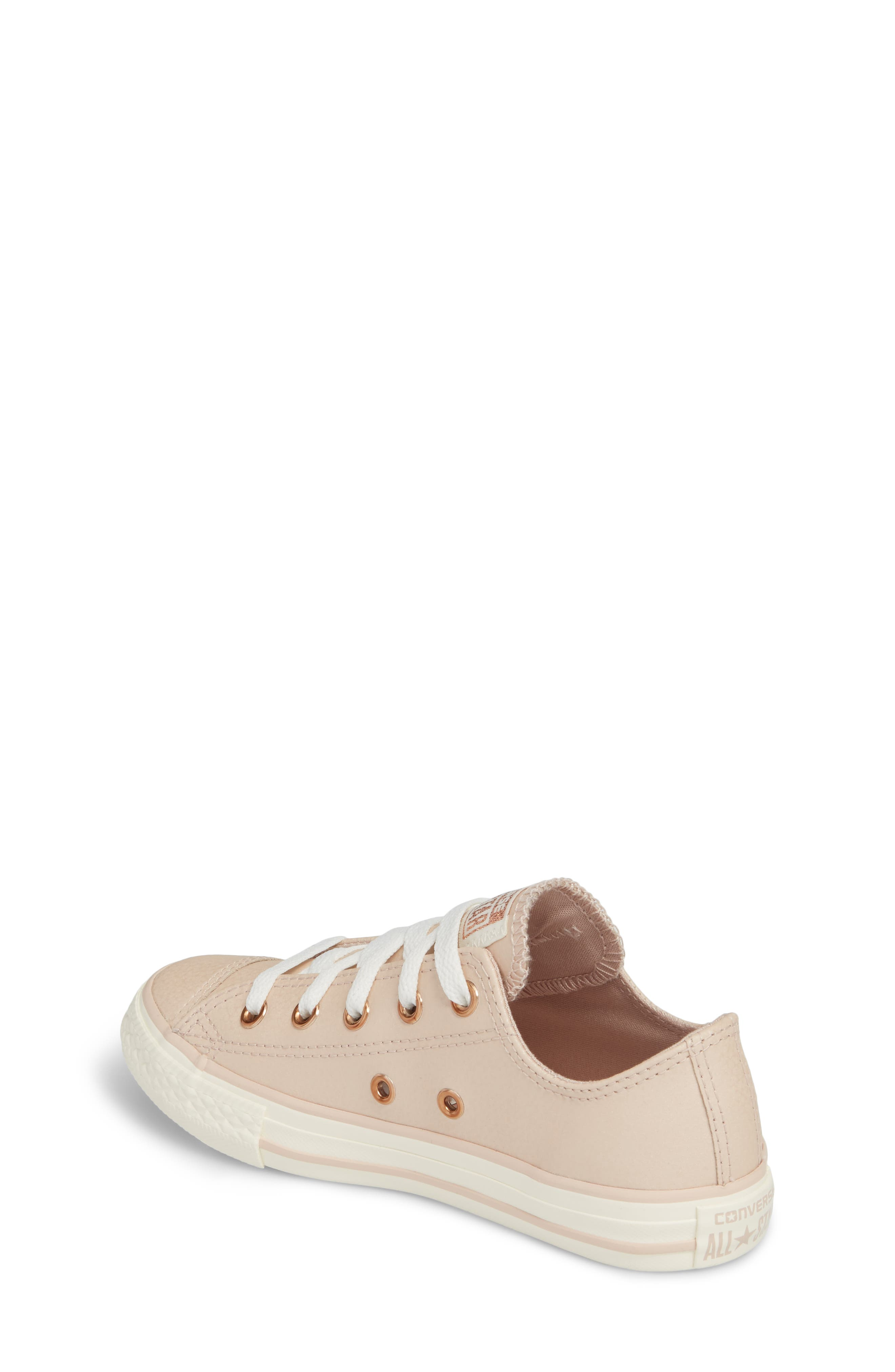 Alternate Image 2  - Converse All Star® Fashion Low Top Sneaker (Toddler, Little Kid & Big Kid)