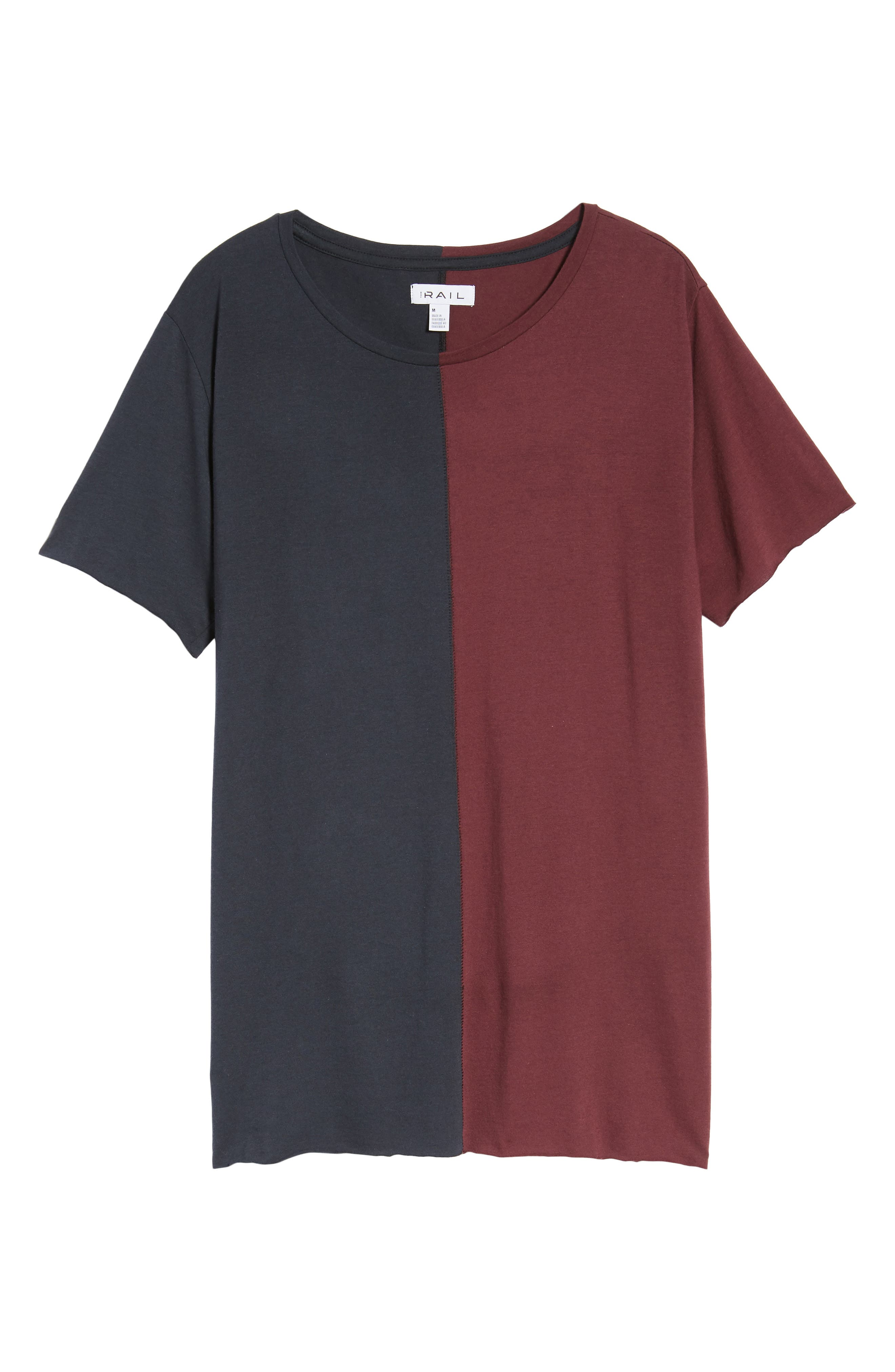 Alternate Image 6  - The Rail Colorblock T-Shirt