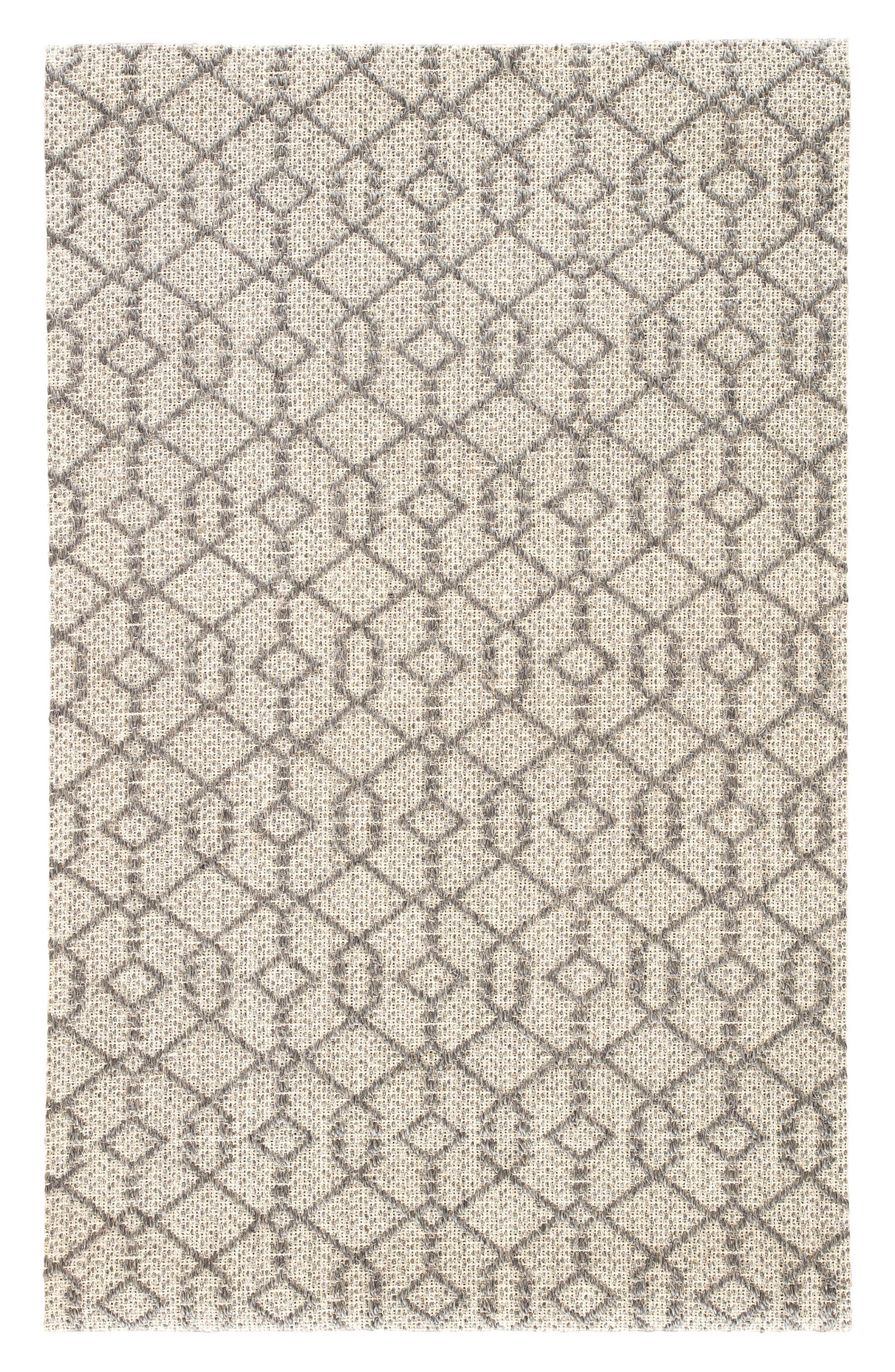 Baza Sisal Rug,                             Main thumbnail 1, color,                             Charcoal Grey