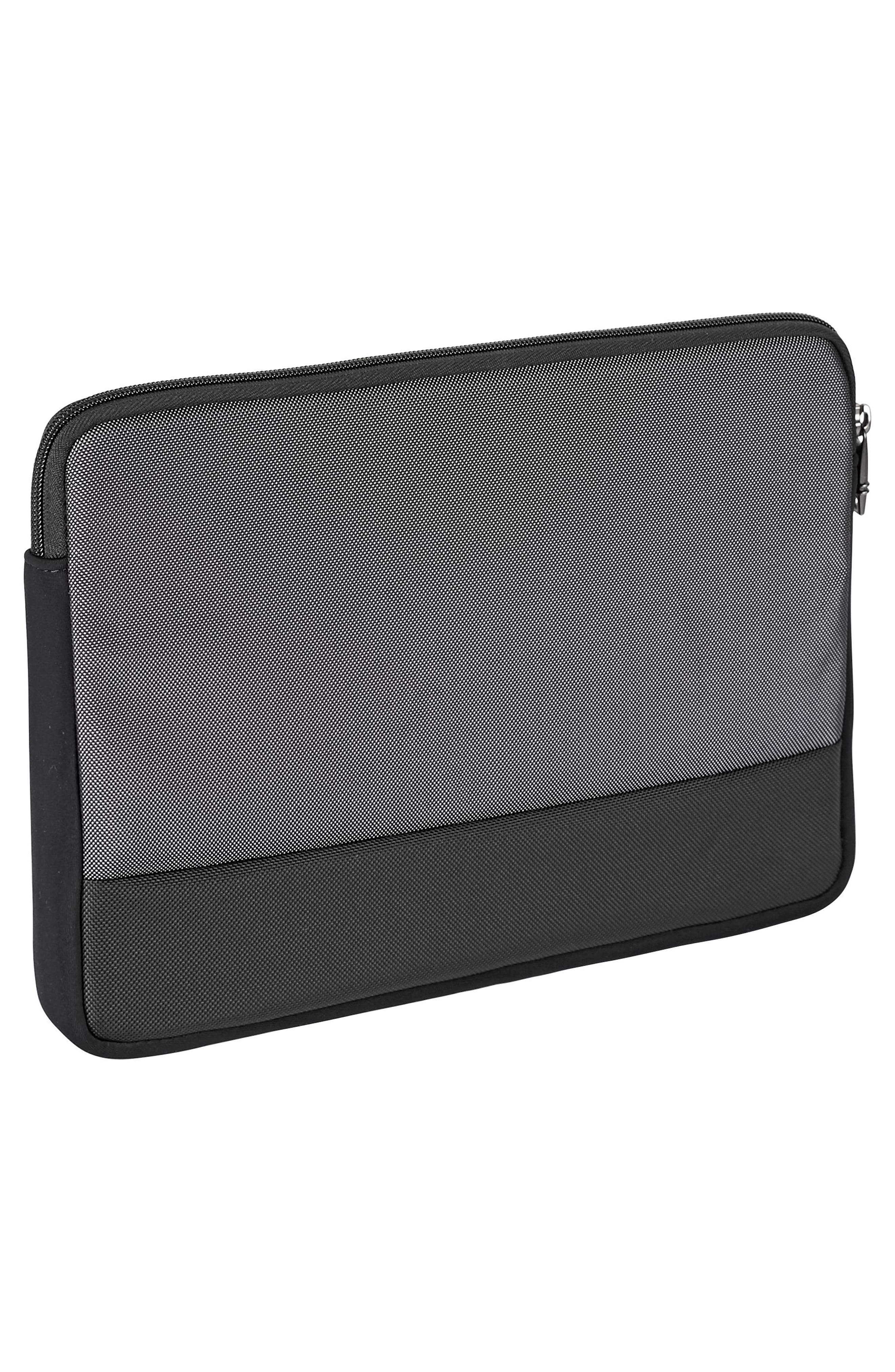 Alpha 2 - Medium Laptop Cover,                             Alternate thumbnail 3, color,                             Pewter