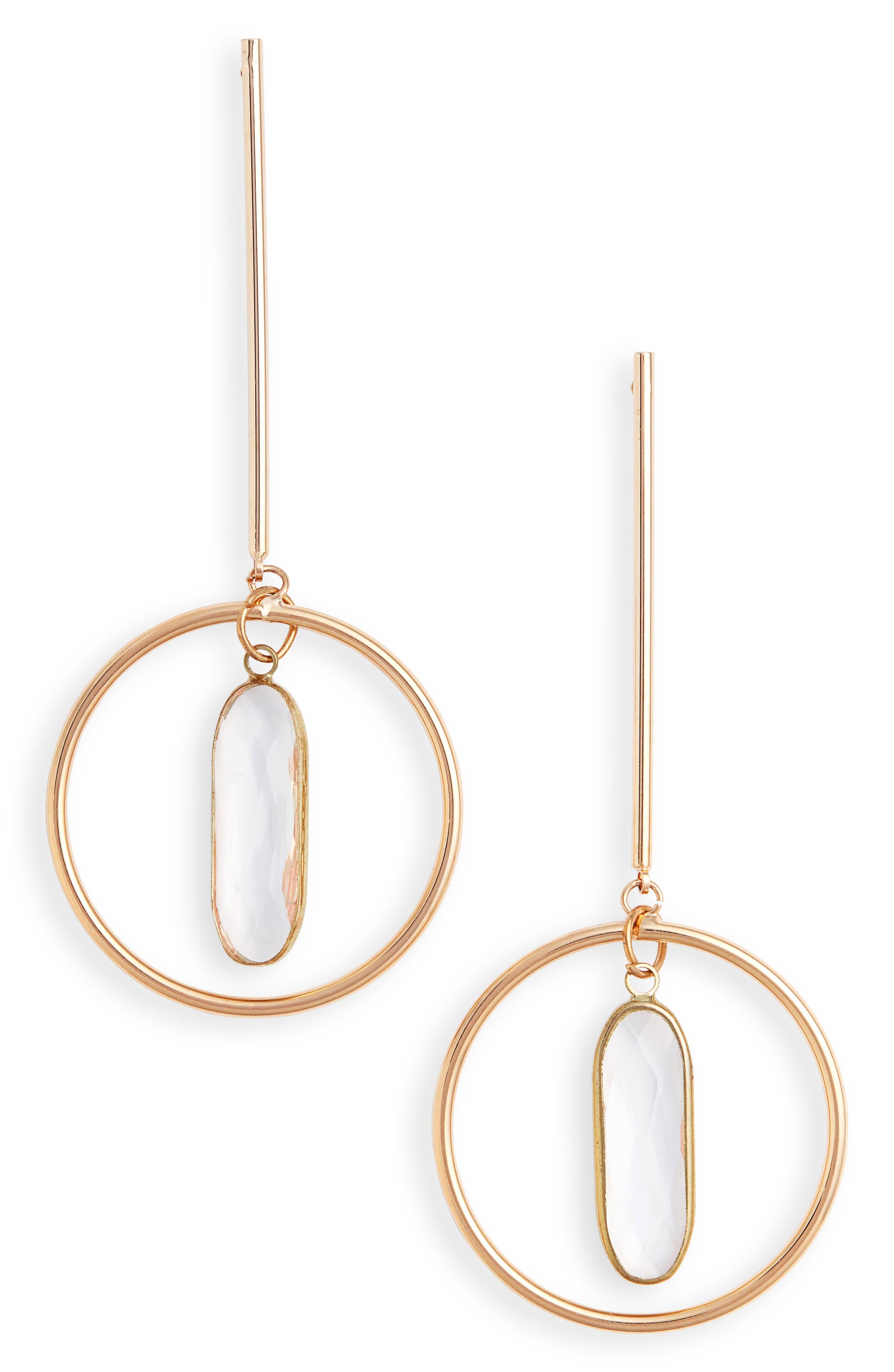 Elise M. Novalee Bar & Hoop Earrings
