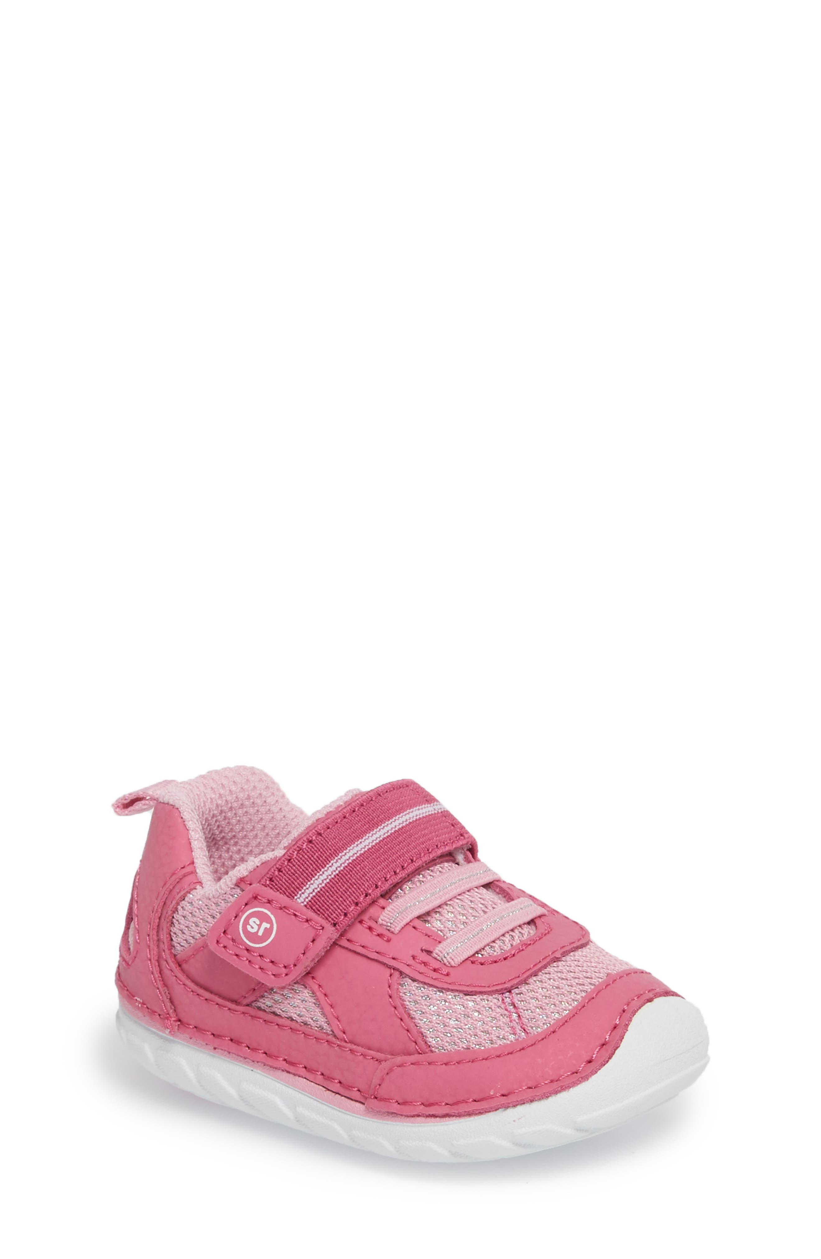 Main Image - Stride Rite Soft Motion™ Jamie Sneaker (Baby & Walker)