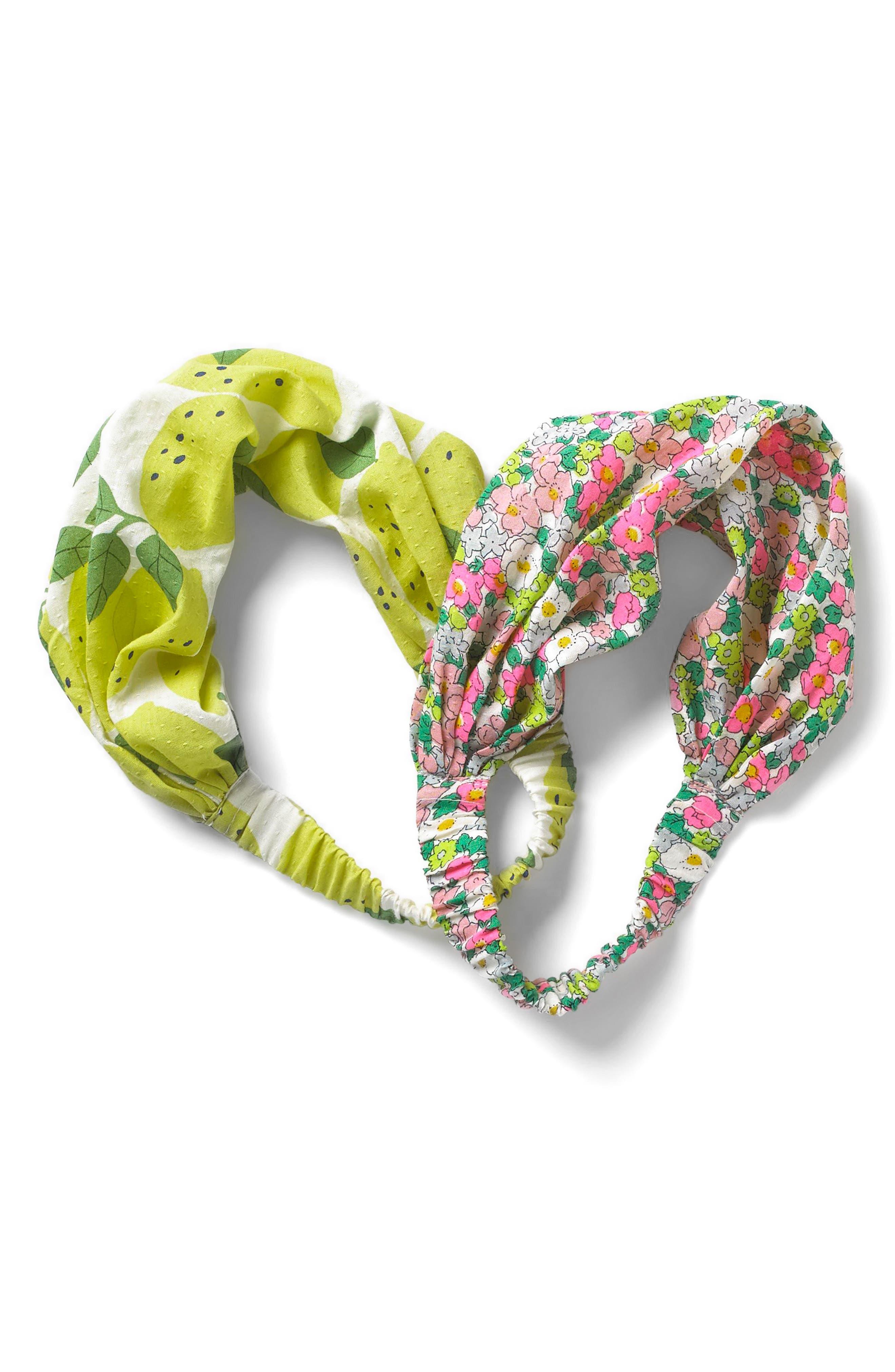 2-Pack Print Head Wraps,                         Main,                         color, Ecru Lemon Tree