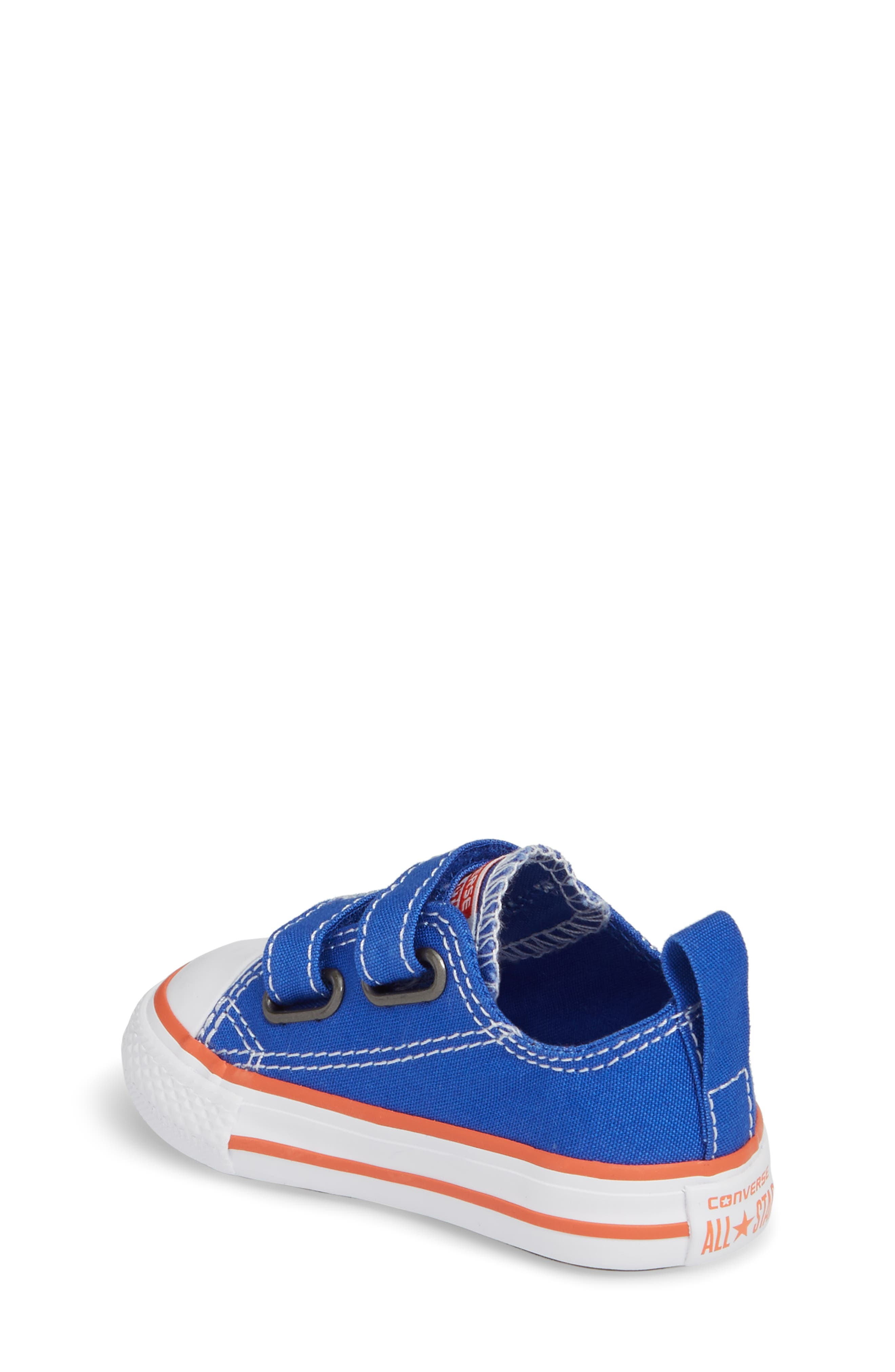 Alternate Image 2  - Converse Chuck Taylor® All Star® Seasonal 2V Low Top Sneaker (Baby, Walker & Toddler)