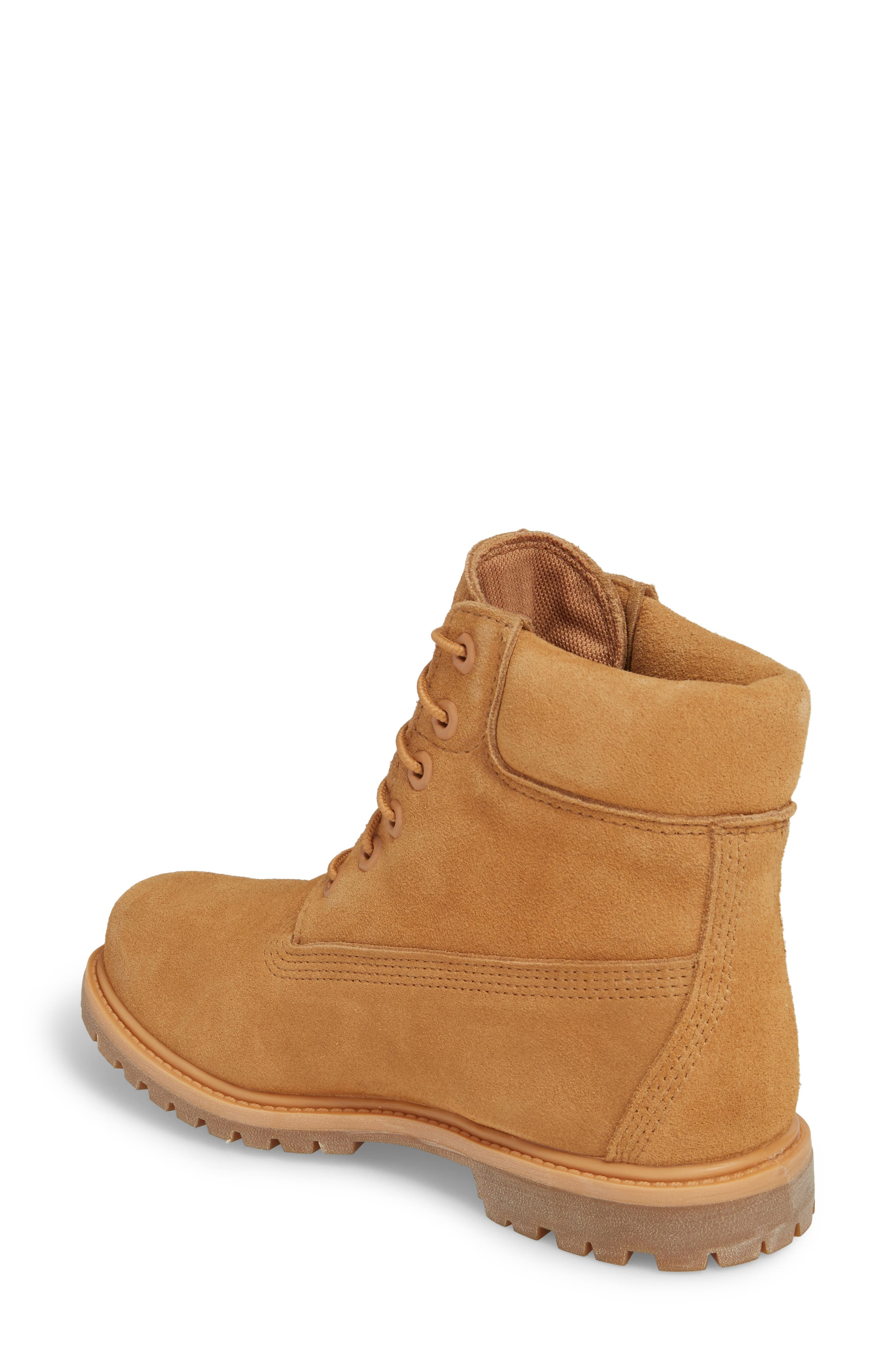6 Inch Boot,                             Alternate thumbnail 2, color,                             Biscuit Nubuck Leather