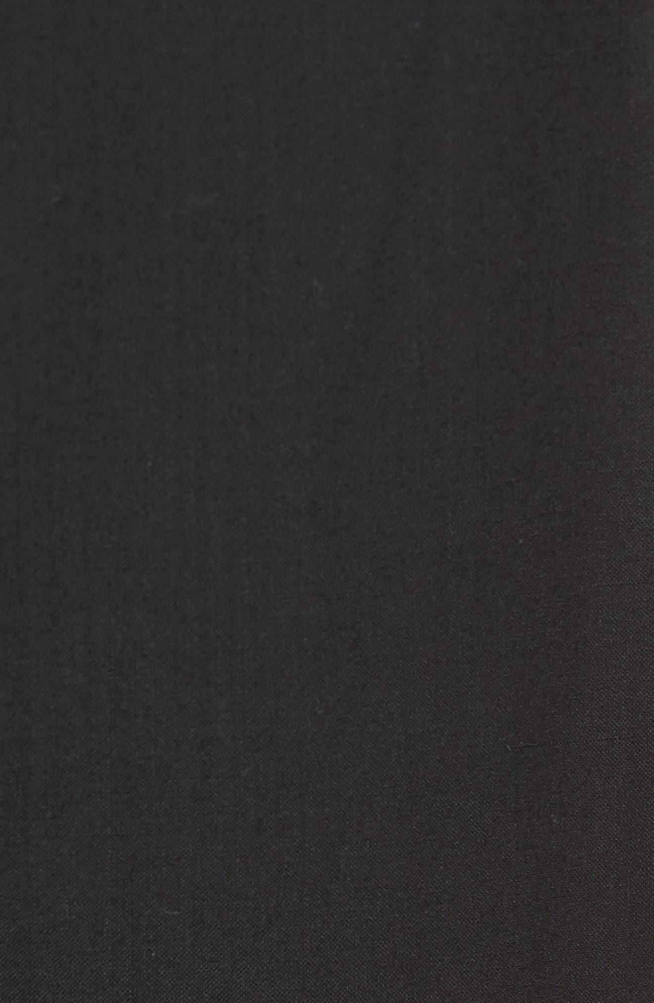 Regular Fit Track Pants,                             Alternate thumbnail 5, color,                             Black