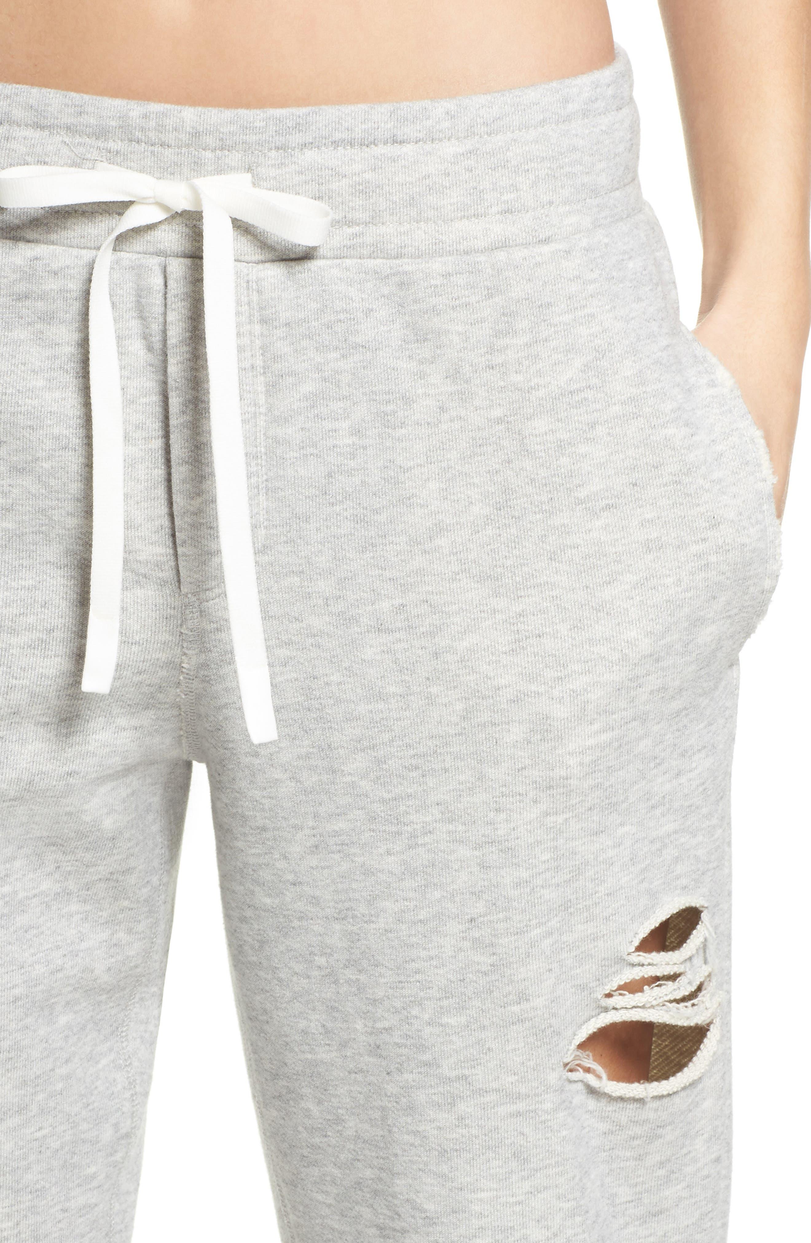 Alternate Image 4  - Alo Ripped Sweatpants