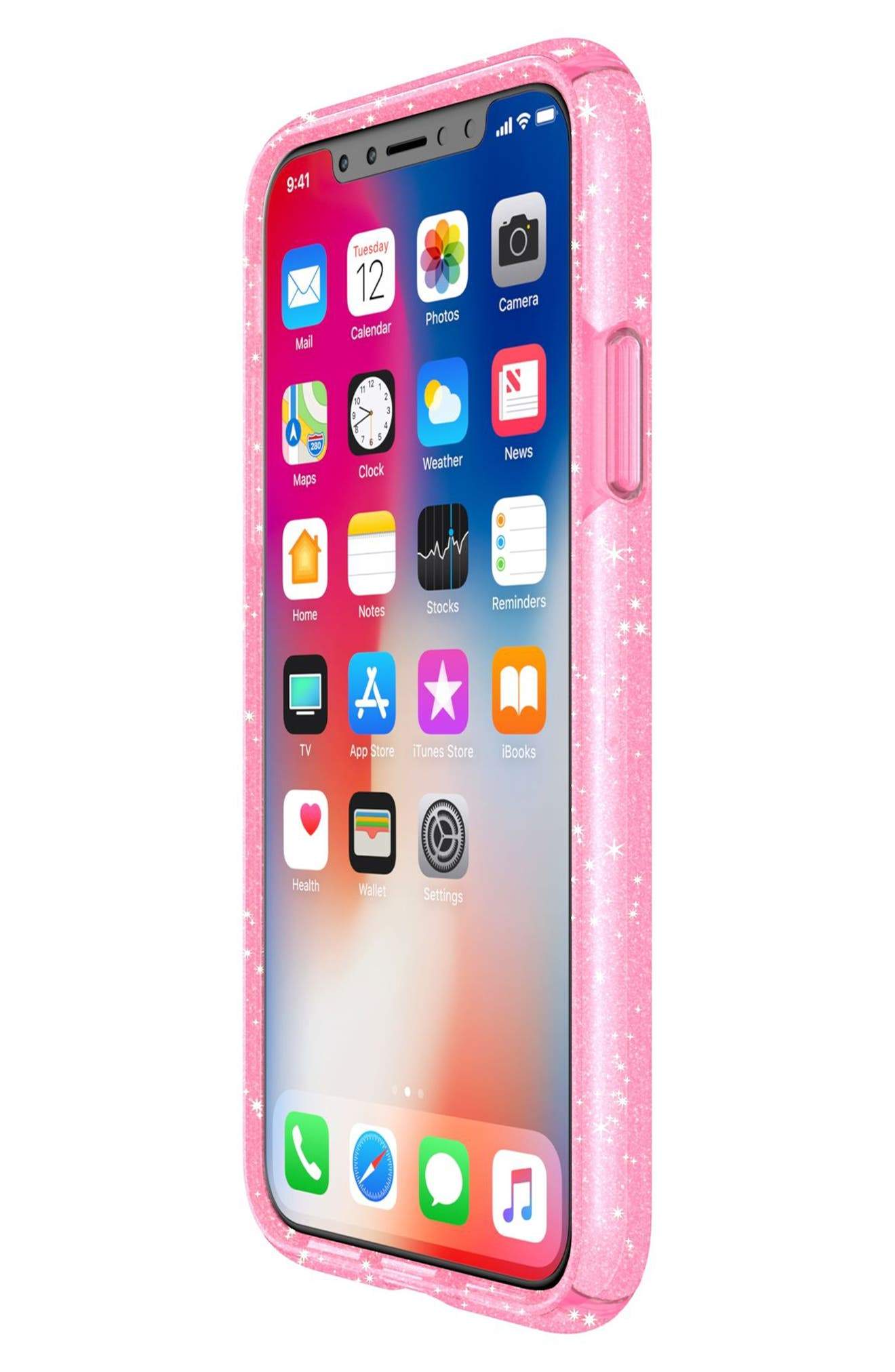 Alternate Image 7  - Speck Transparent iPhone X Case