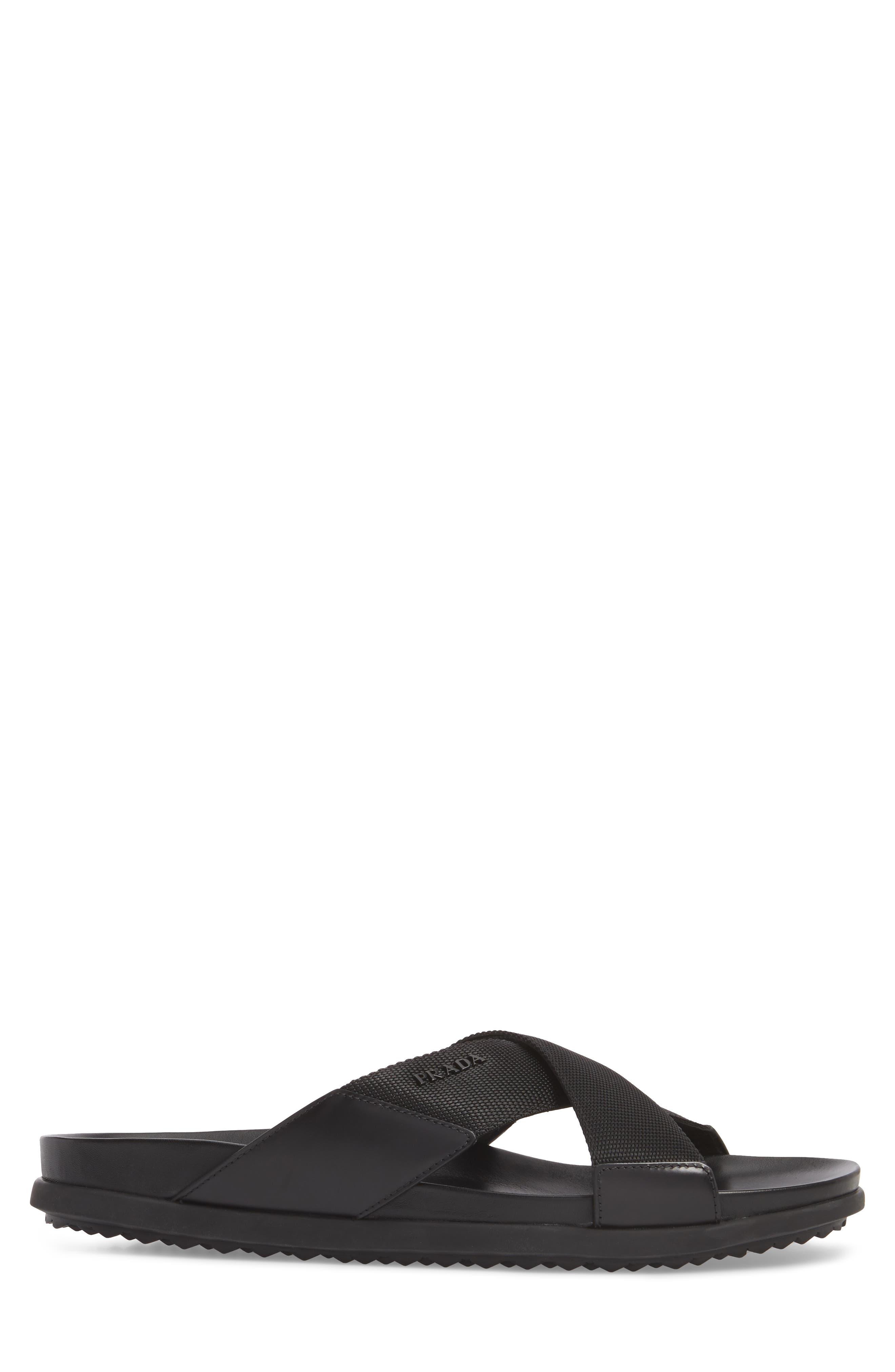 Alternate Image 3  - Prada Linea Rossa Slide Sandal (Men)