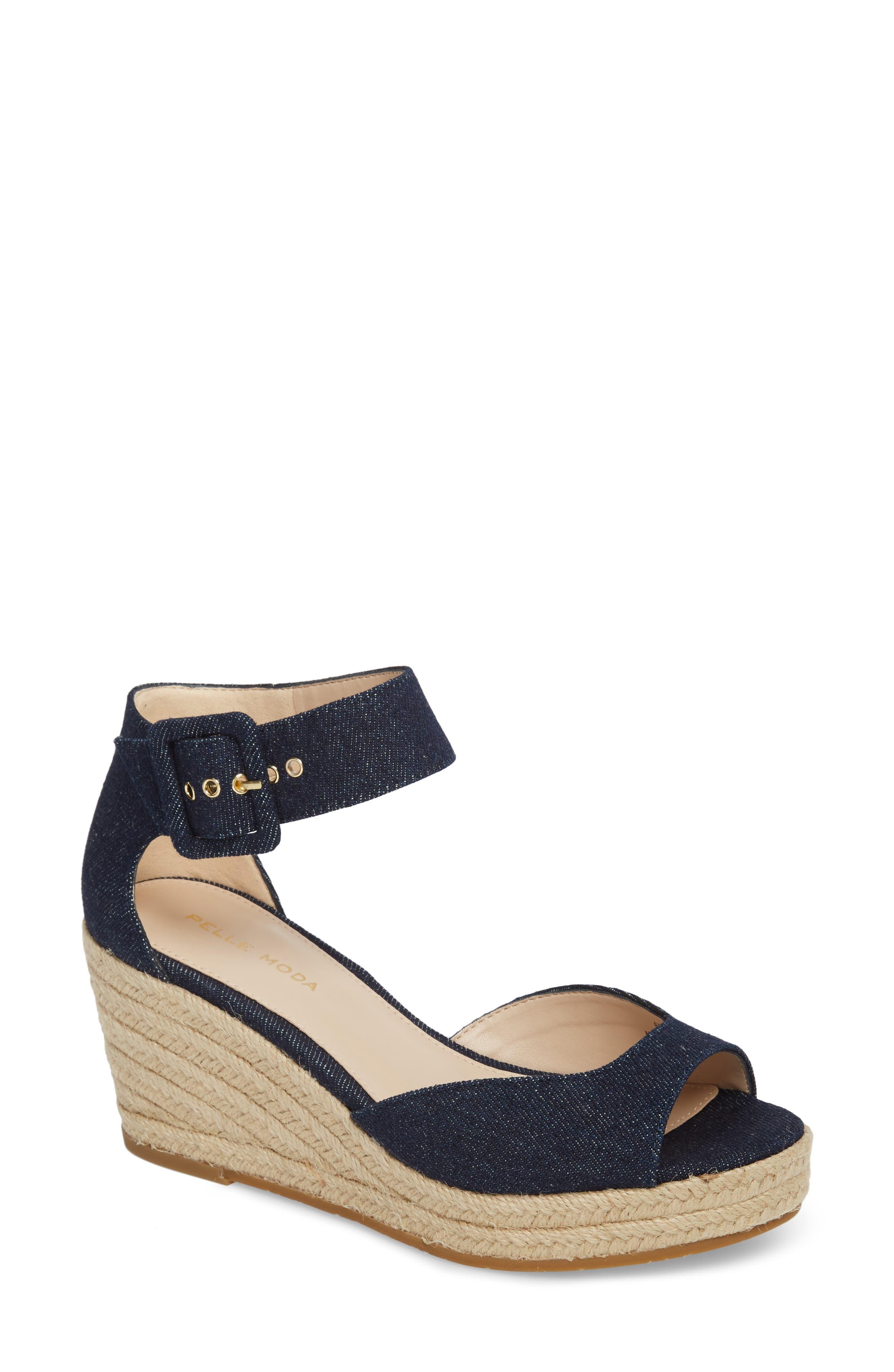 Main Image - Pelle Moda Kauai Platform Wedge Sandal (Women)