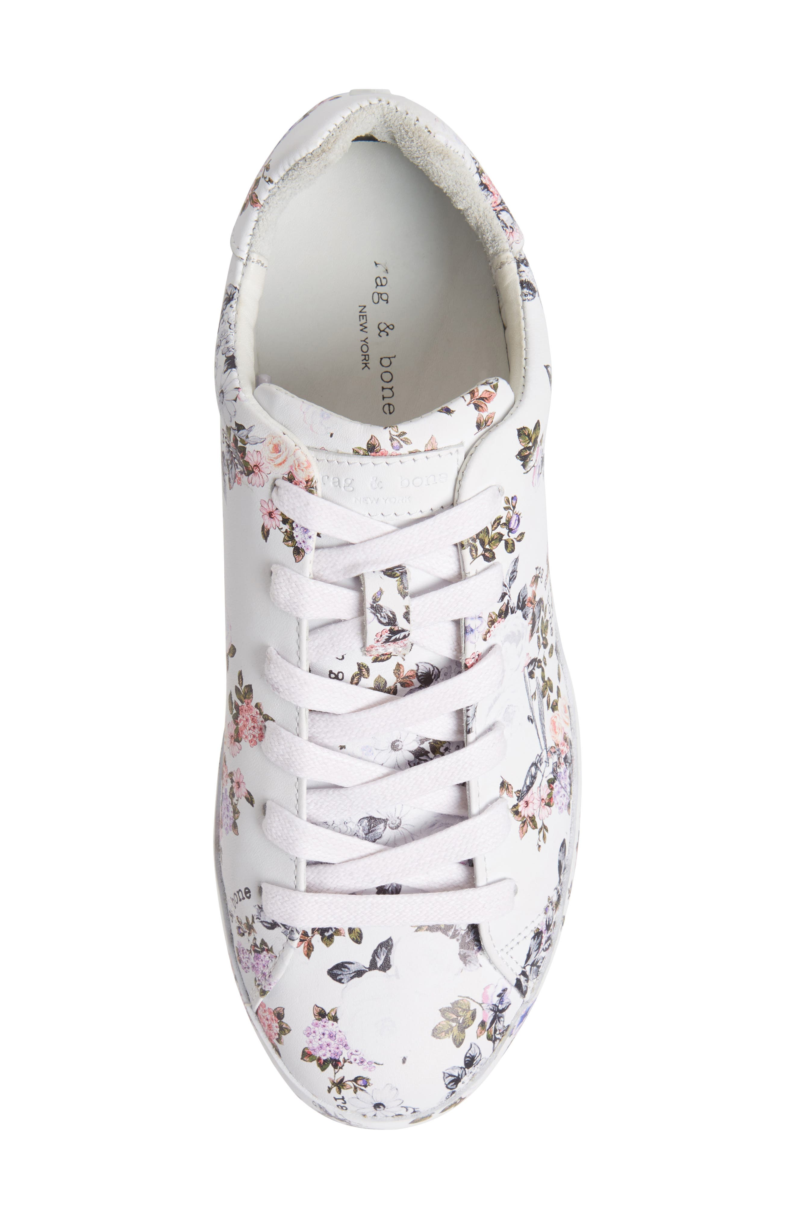 RB1 Low-Top Sneaker,                             Alternate thumbnail 5, color,                             Garden Florl